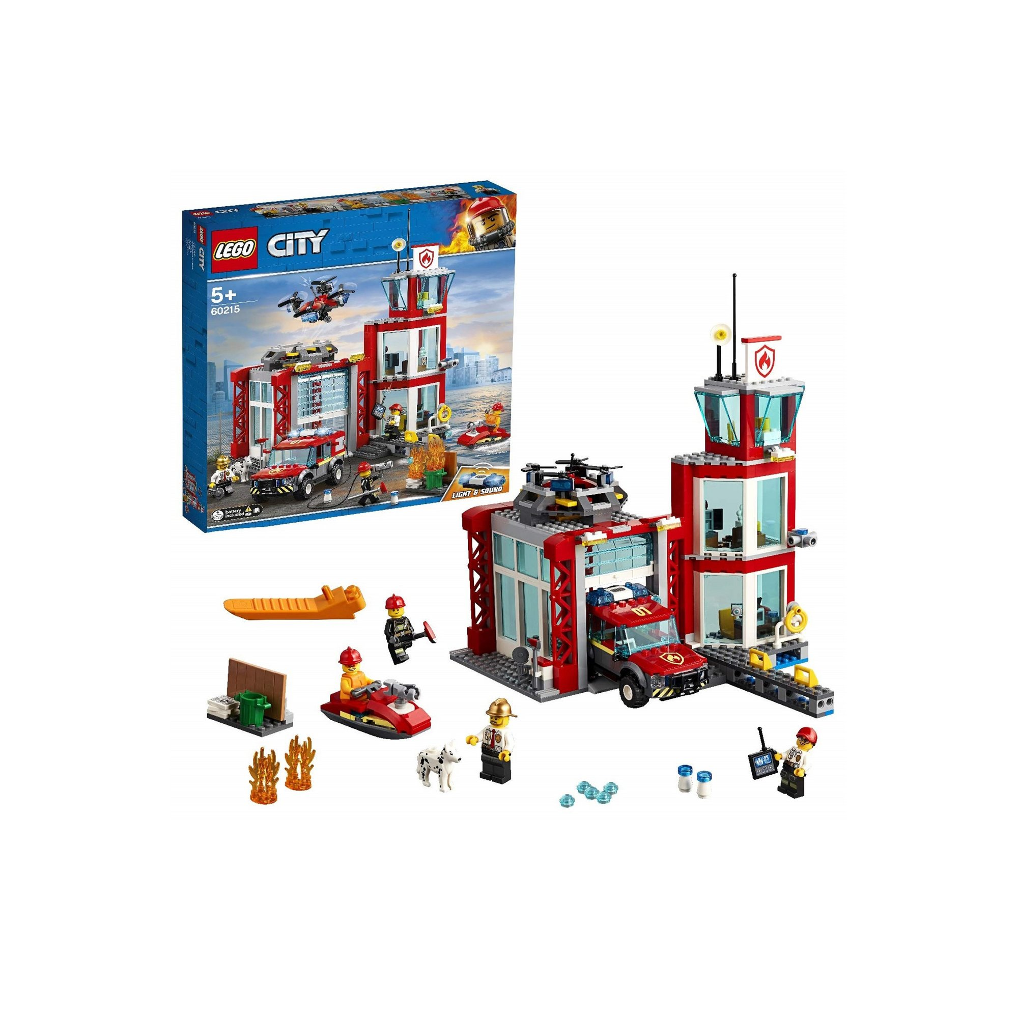 Image of LEGO City Fire Station