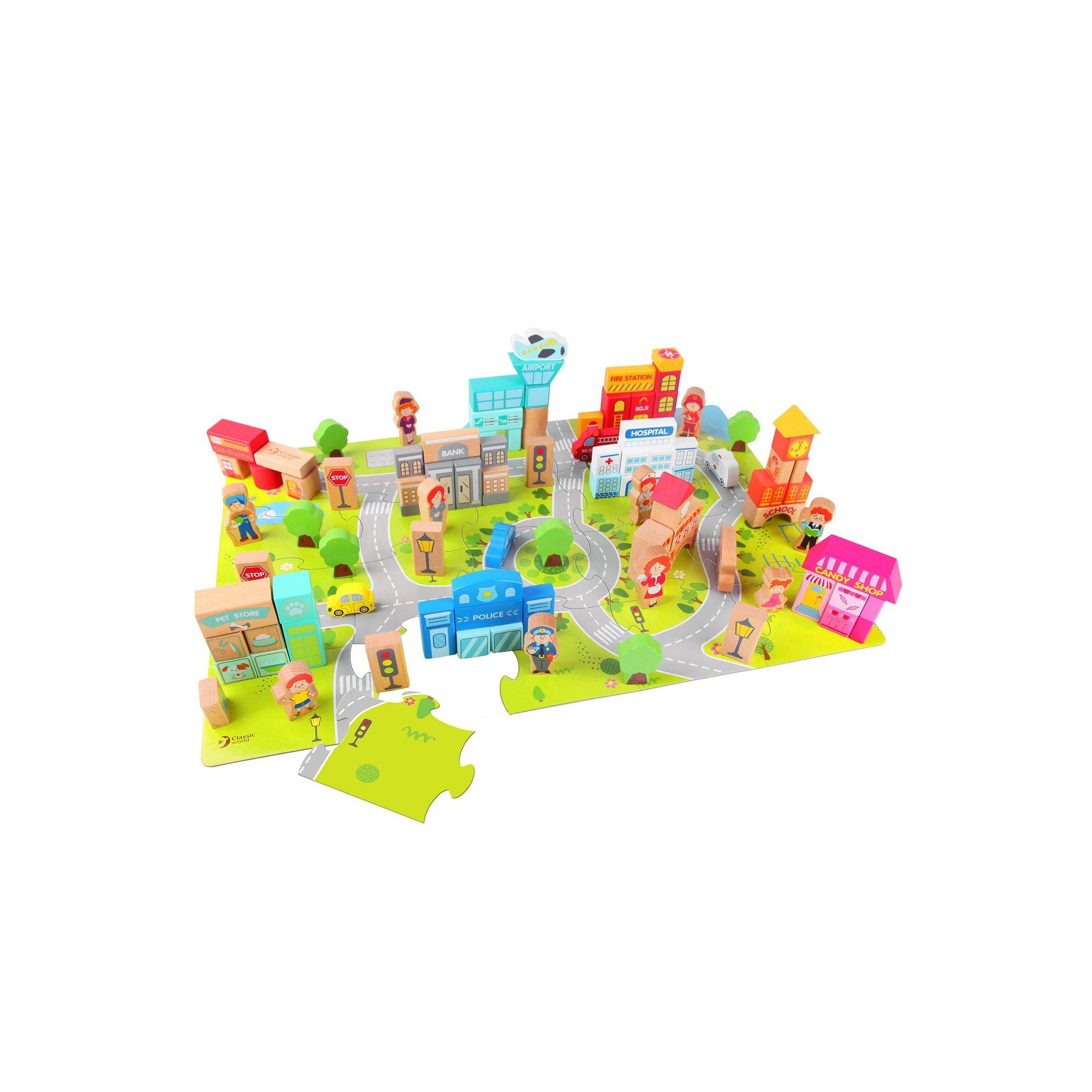 Image of Classic World - City Building Blocks