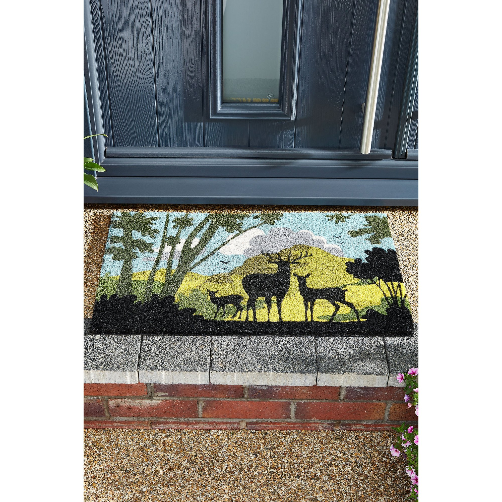 Image of Astley Countryside Silhouette Masterpiece Coir Mat