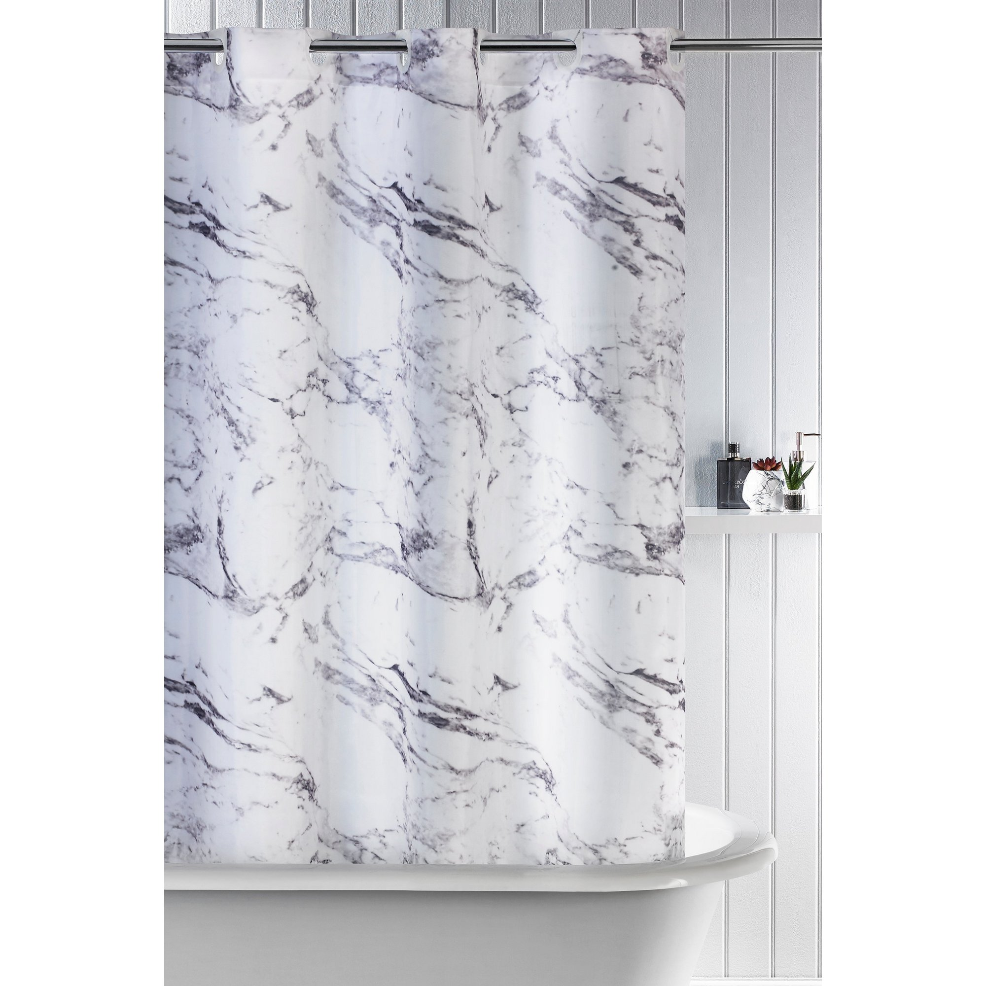 Image of Marble Shower Curtain
