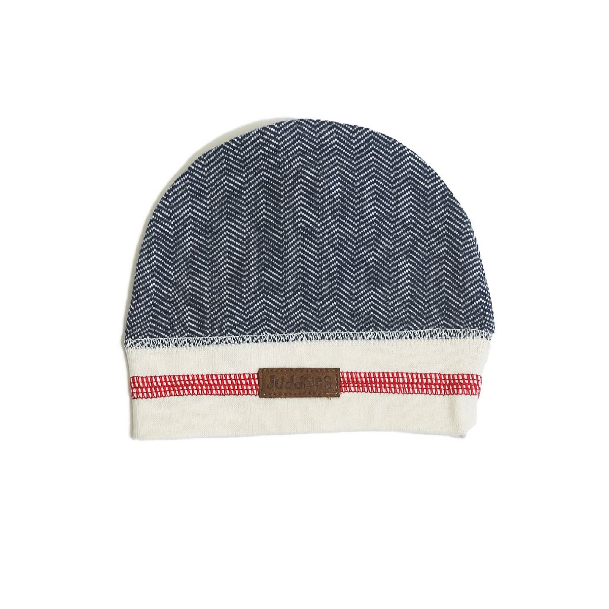 Image of Juddlies Cottage Collection Cottage Beanie Lake Blue (0 3M)