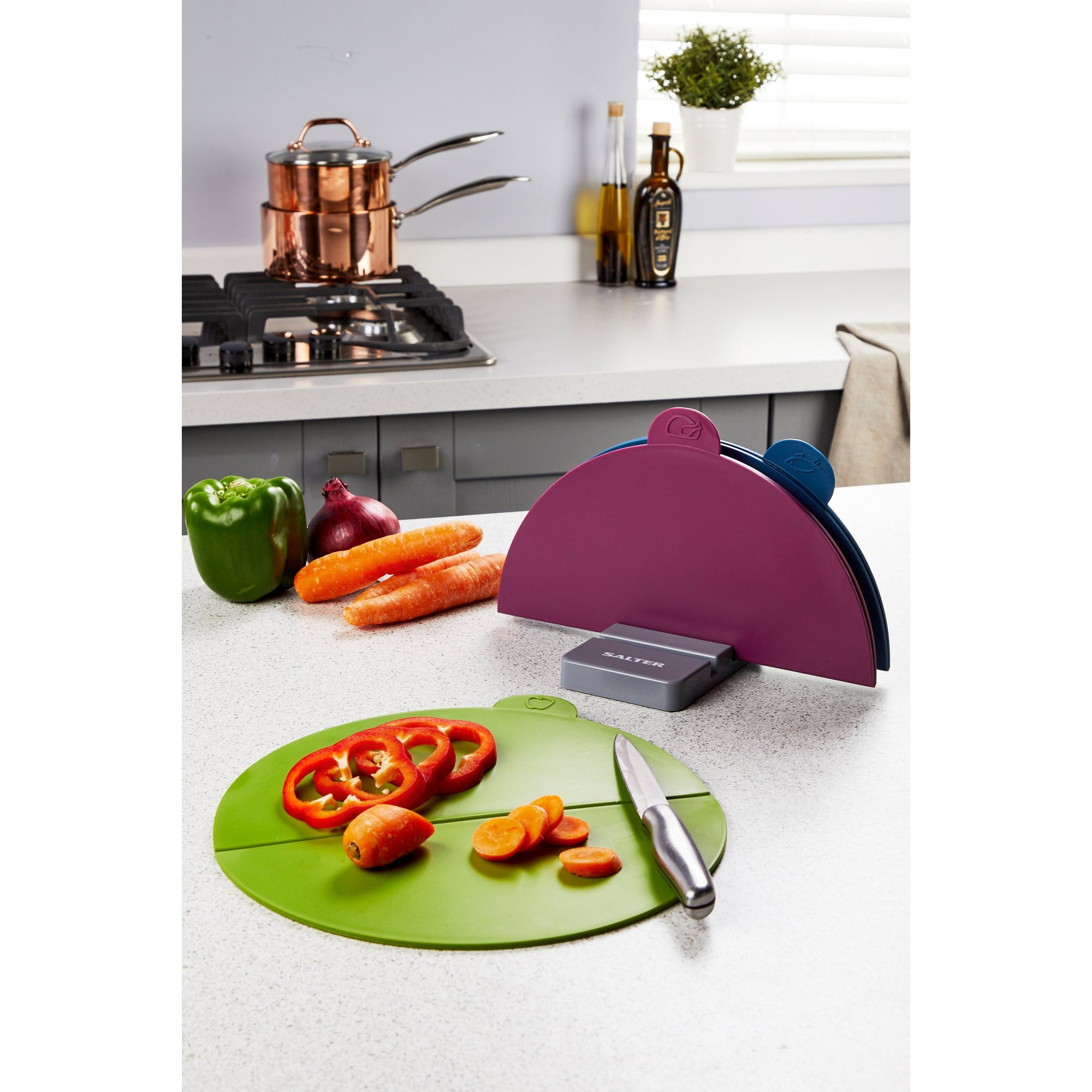 Image of 3 Salter Folding Chopping Boards