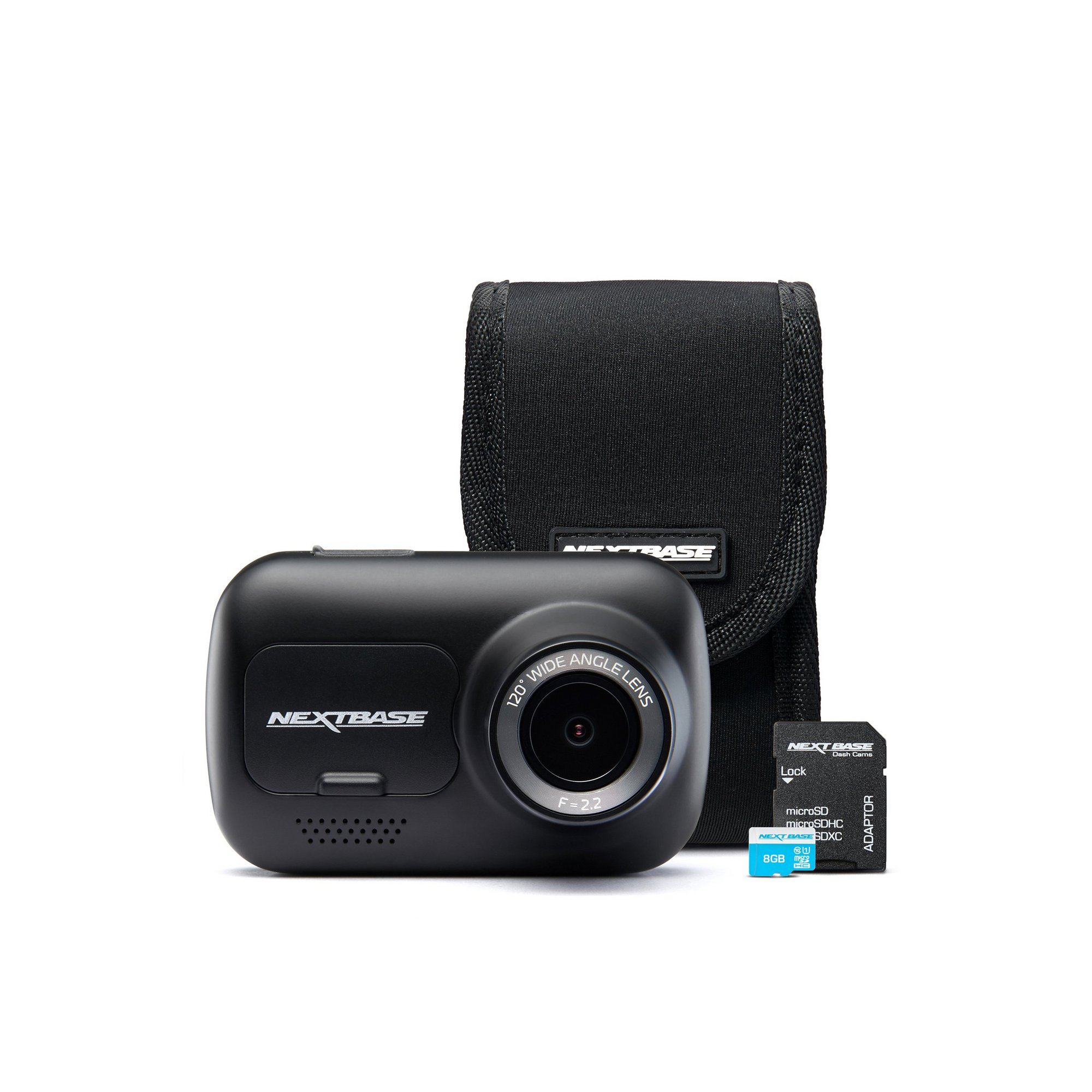 Image of Nextbase 122 Dash Cam and Accessories Bundle