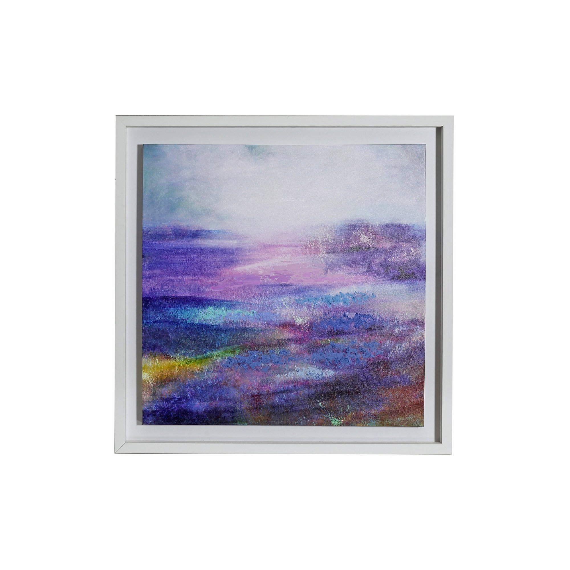 Image of Aquarelle Capped Canvas with Hand Paint