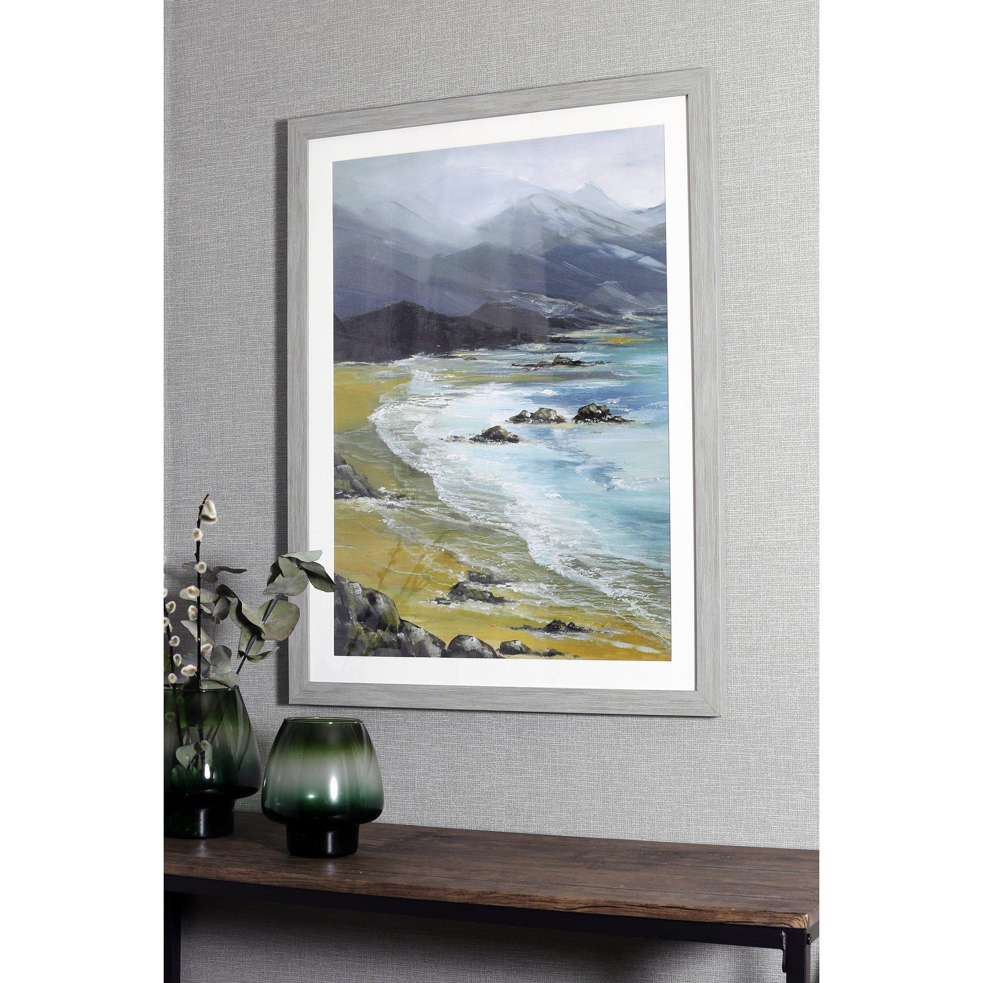 Image of Black Bay Framed Print