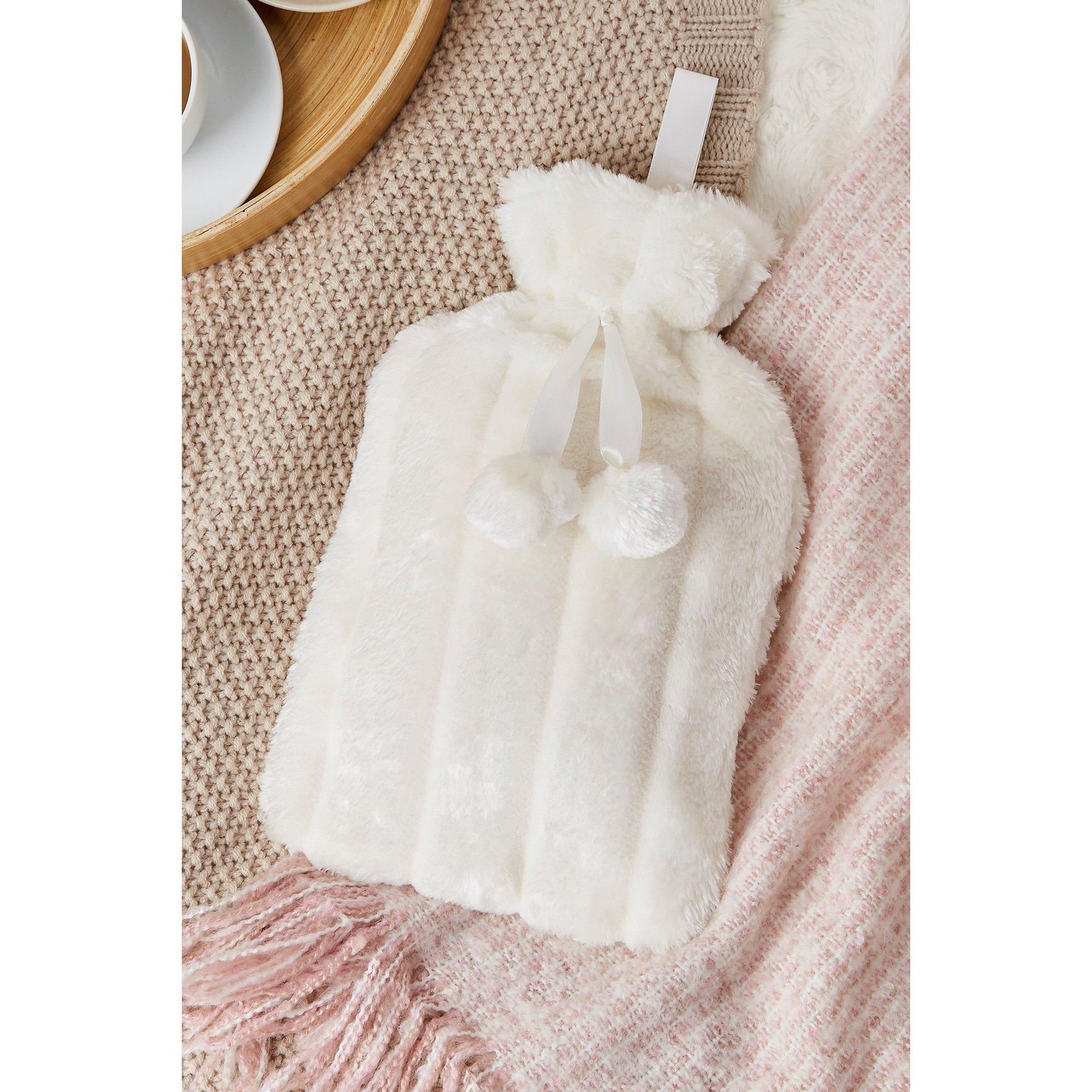 Image of Faux Fur Hot Water Bottle