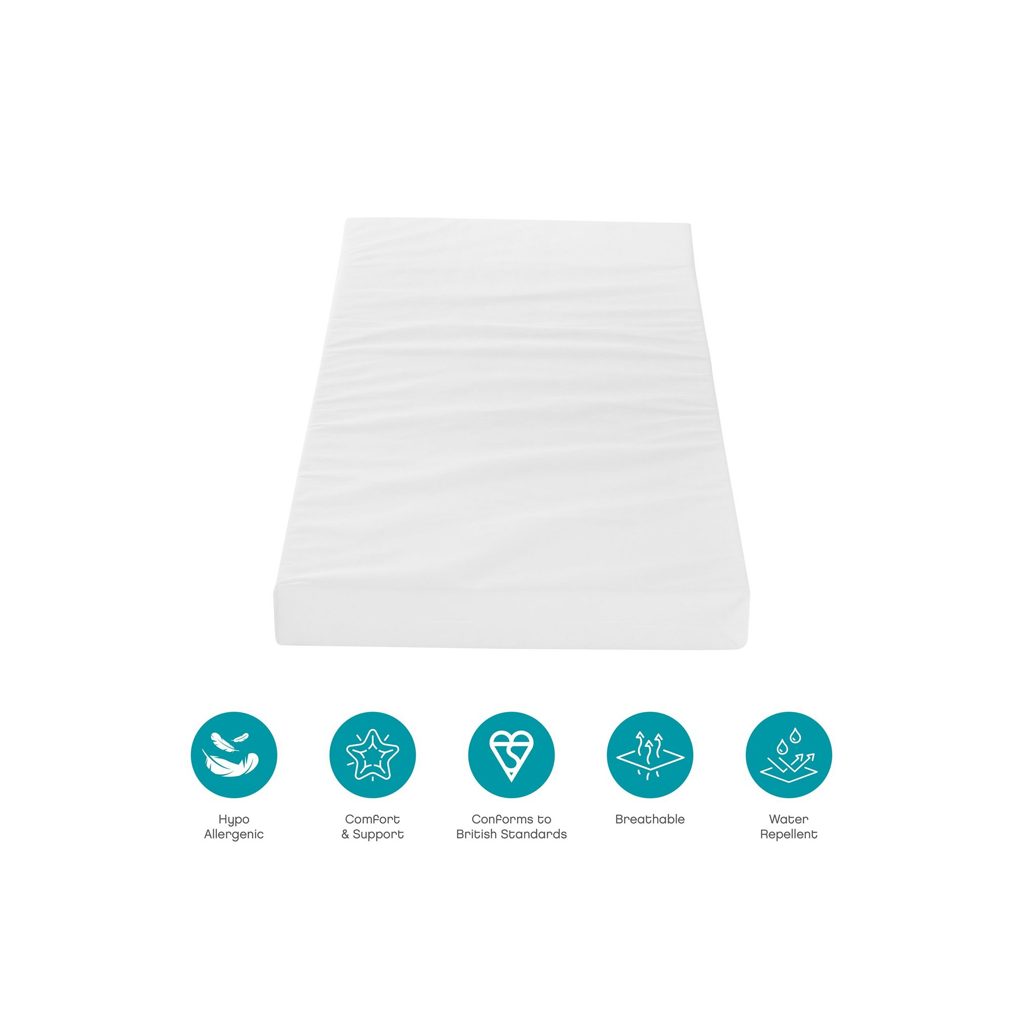 Image of Foam Cot Bed Mattress (70 x 140 cm)
