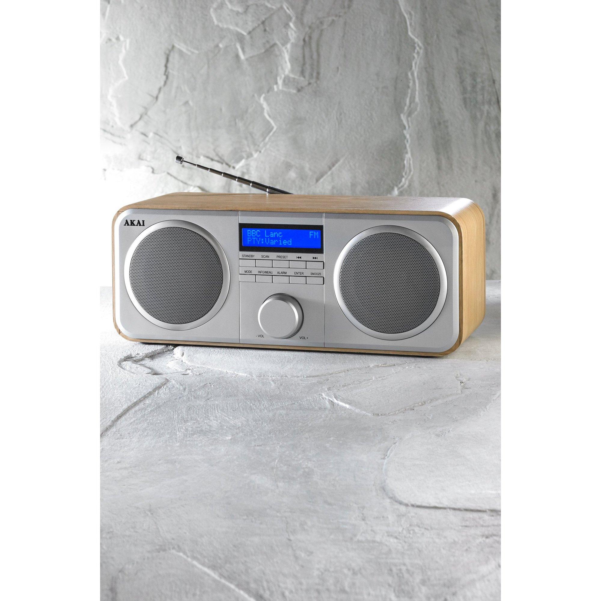 Image of Akai DAB Stereo Radio