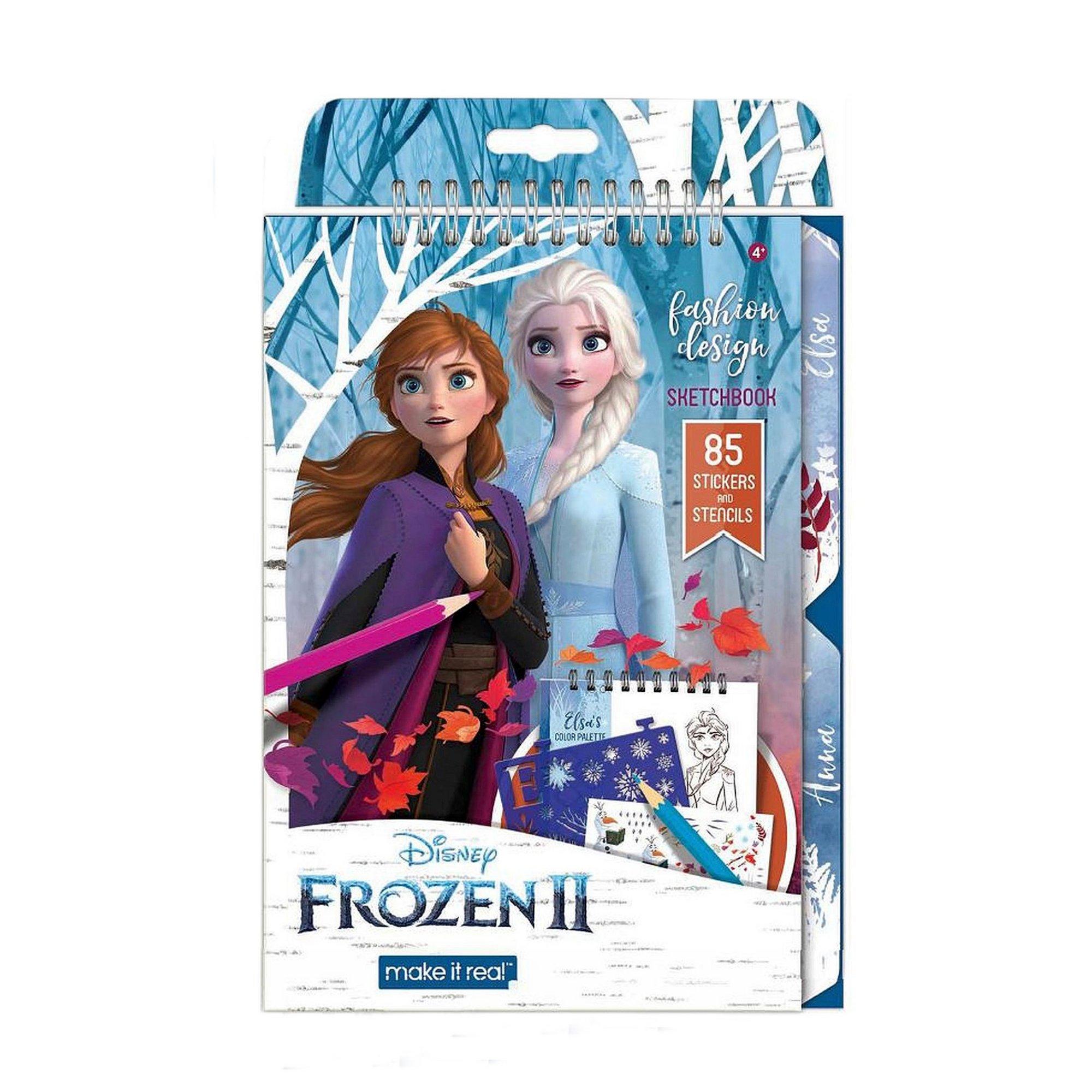 Image of Disney Frozen 2 Fashion Design Sketchbook