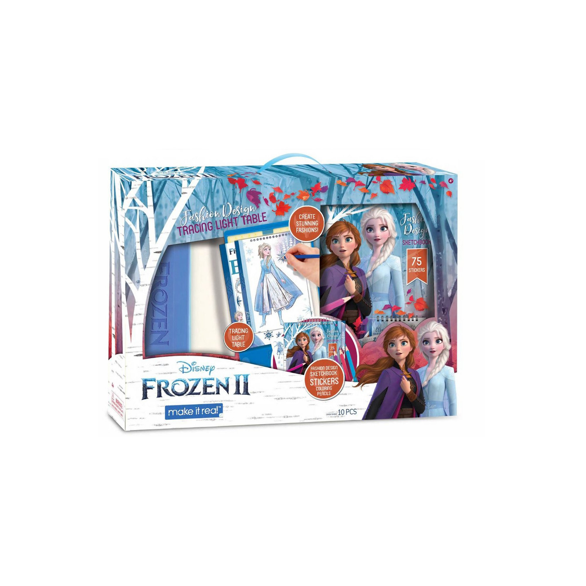 Image of Disney Frozen 2 Sketchbook with Light Table