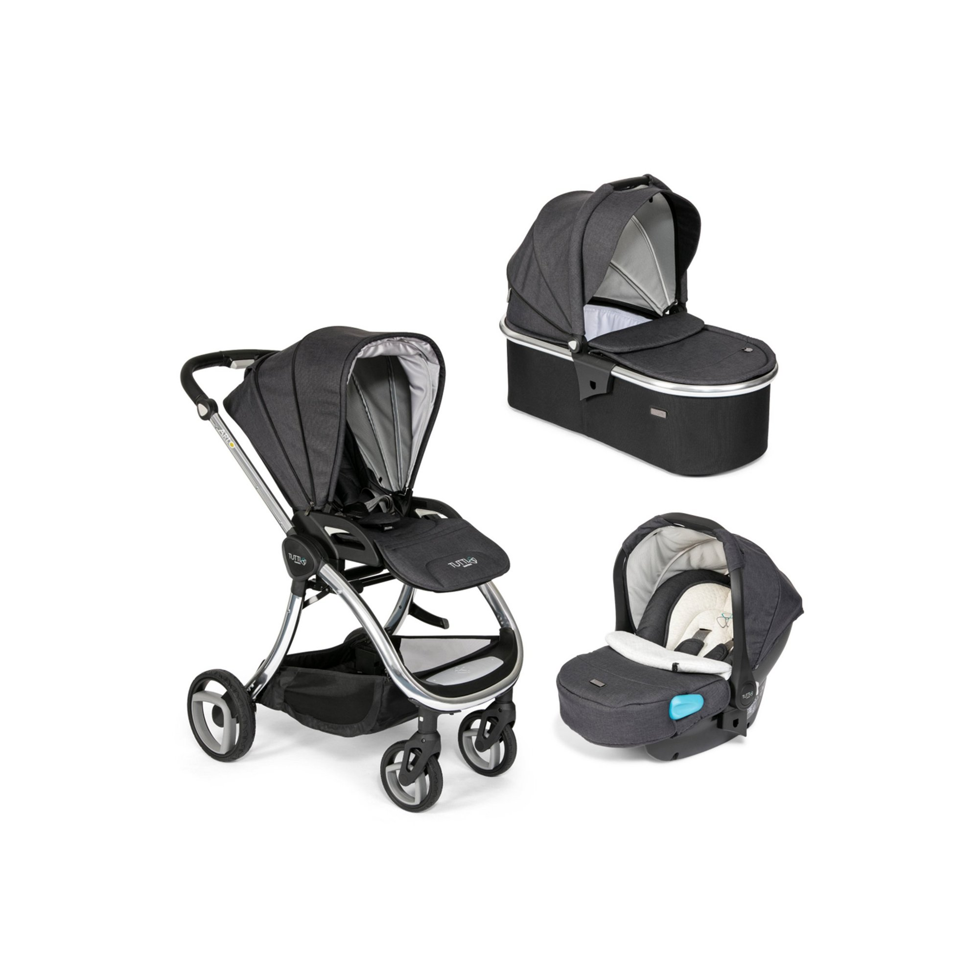 Image of Arlo Chrome 3 in 1 Travel System