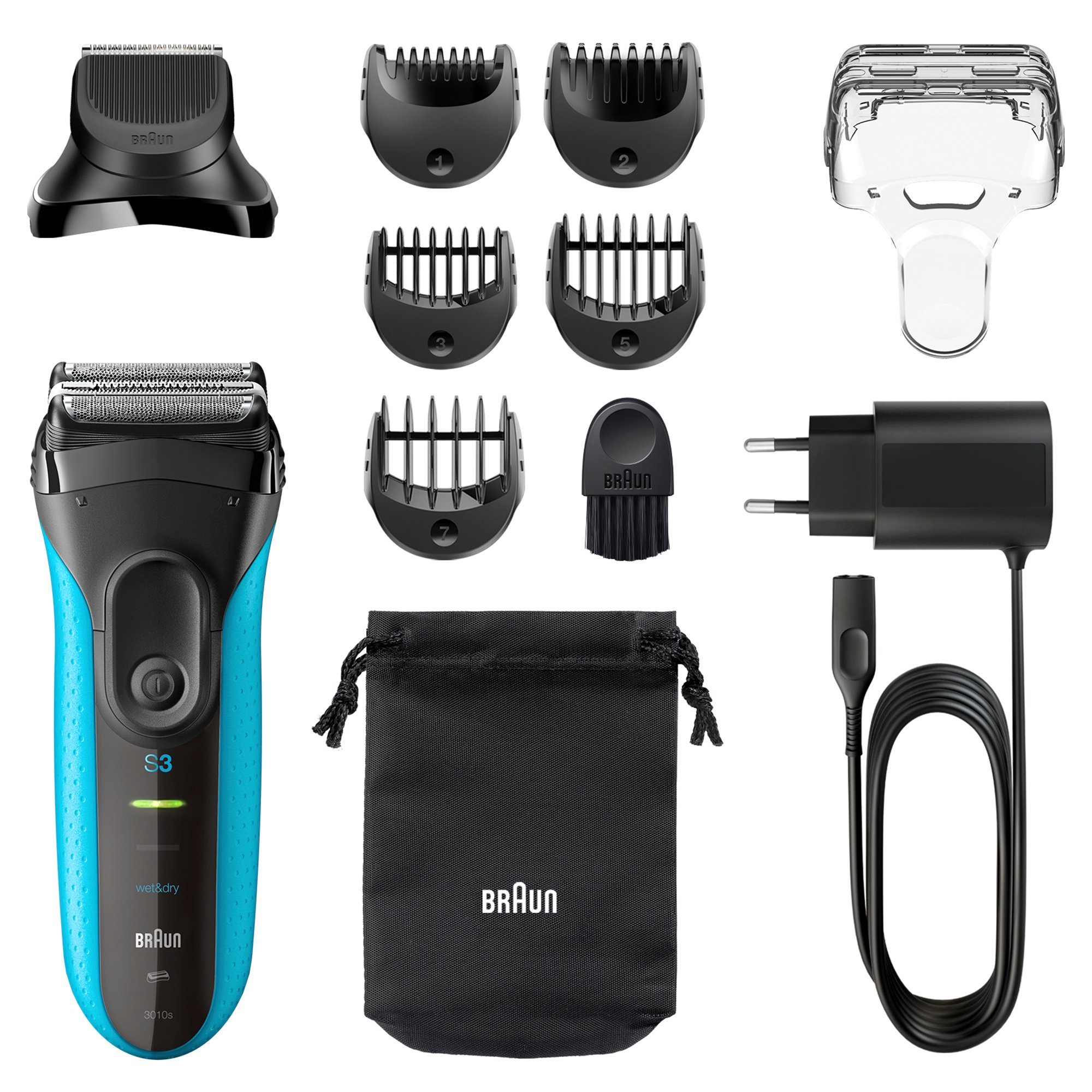 Image of Braun 3 Series Shave and Style 3-in-1 Shaver