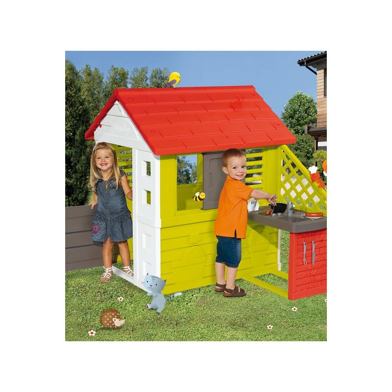 Image of Smoby Nature Playhouse and Kitchen