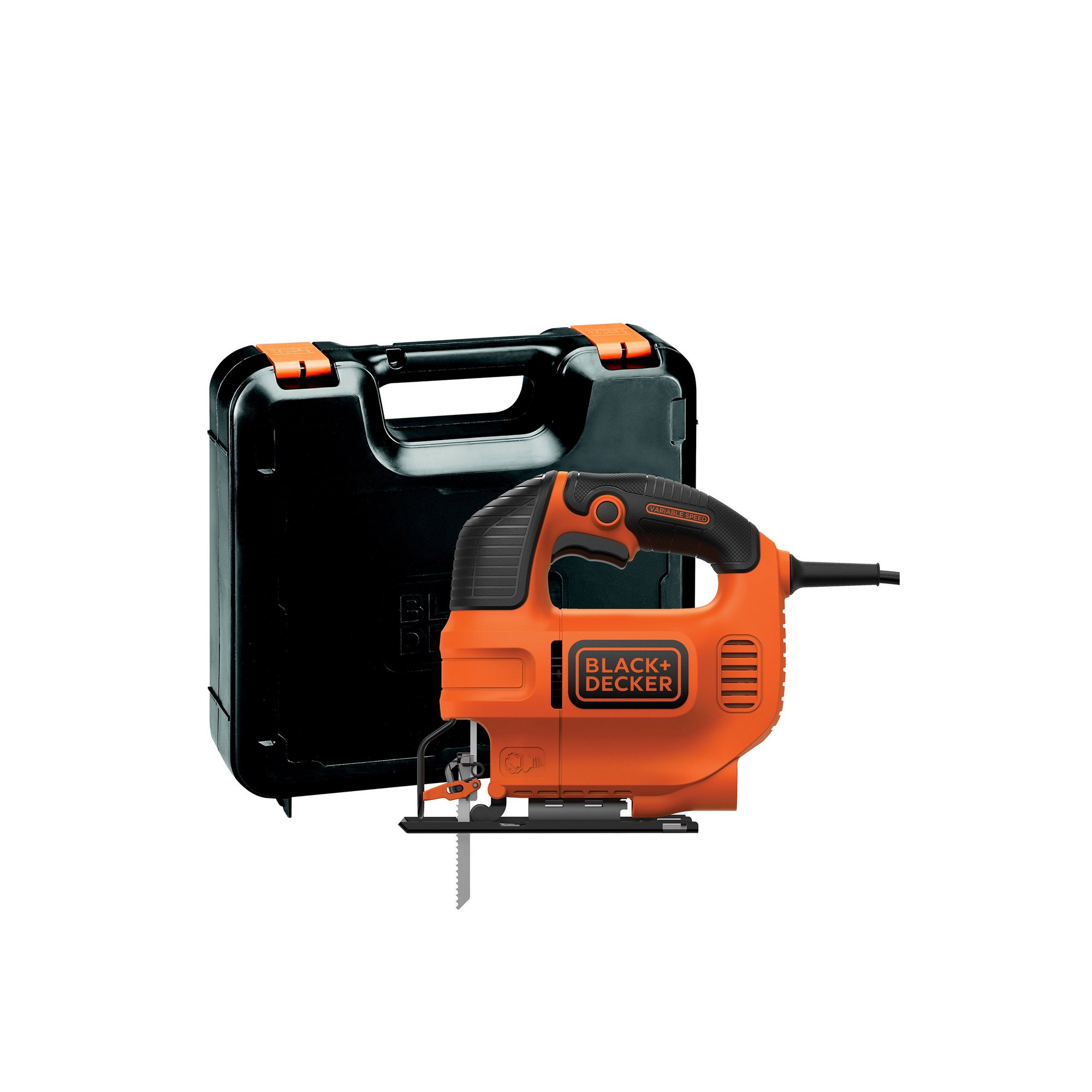 Image of Black and Decker Jigsaw and Box
