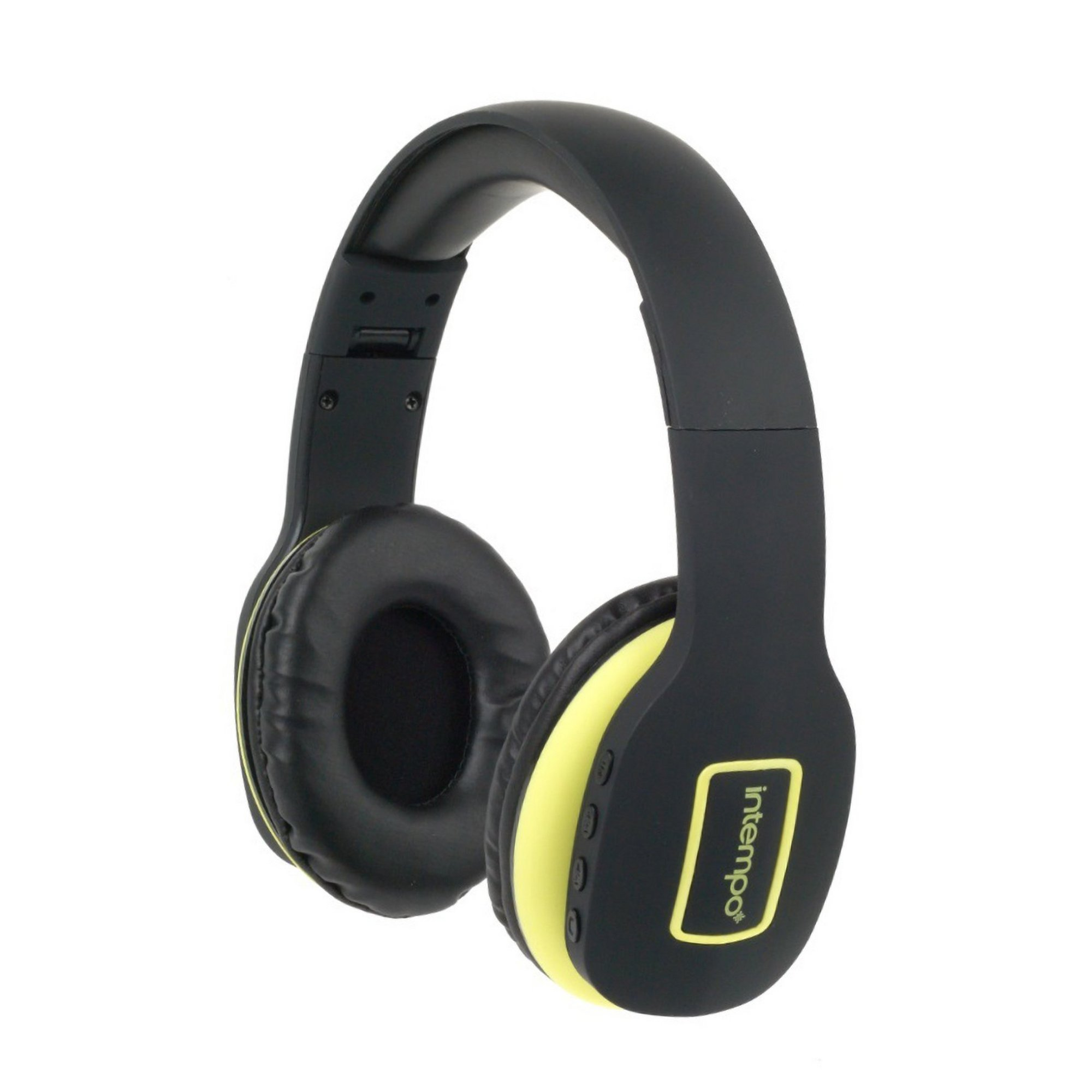Image of Intempo Active Wireless Bluetooth Foldable Headphones