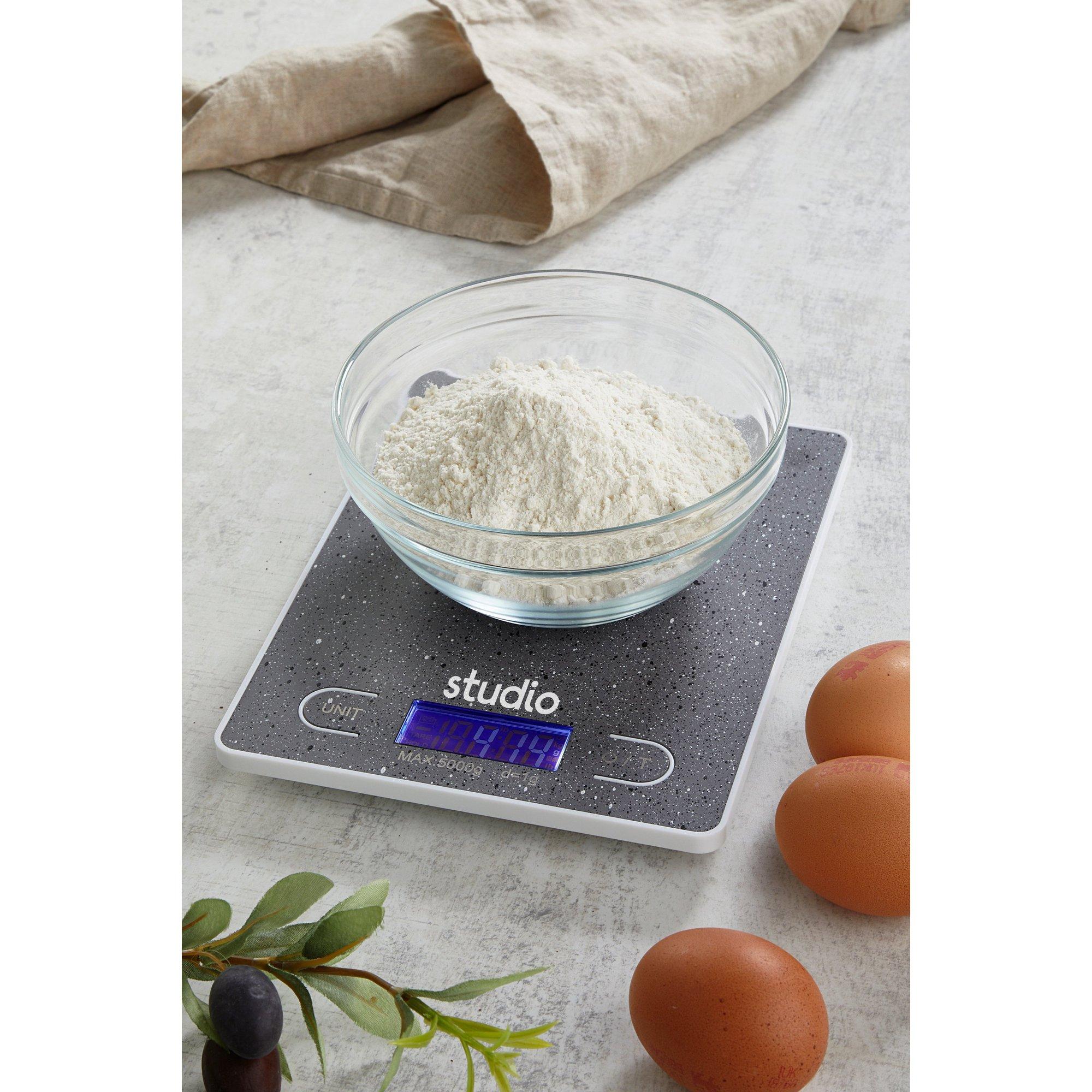 Image of Speckled Digital Kitchen Scales