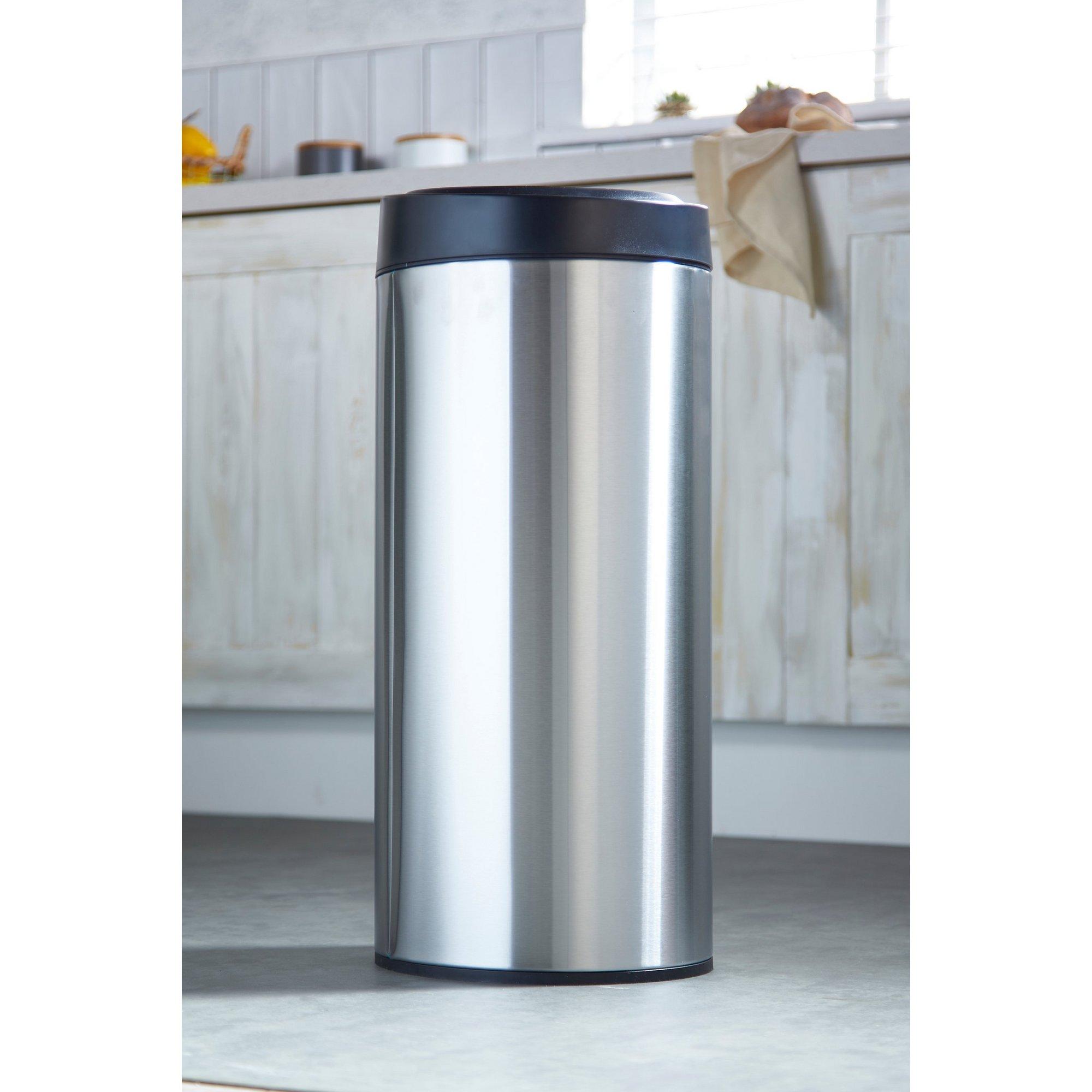 Image of 30 Litre Stainless Steel Sensor Bin