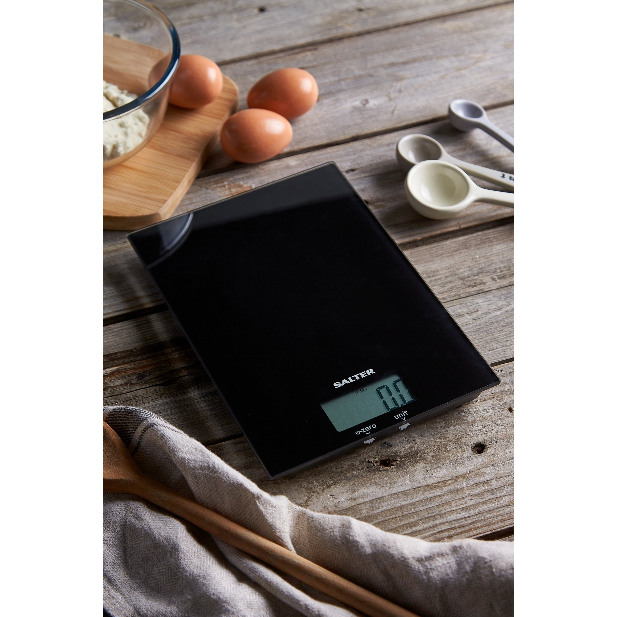 Image of Salter Digital Glass Kitchen Scale