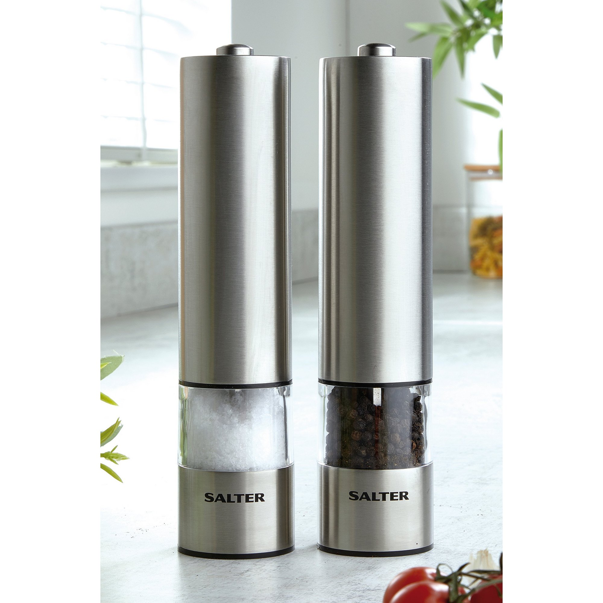 Image of Salter Electric Salt and Pepper Mill