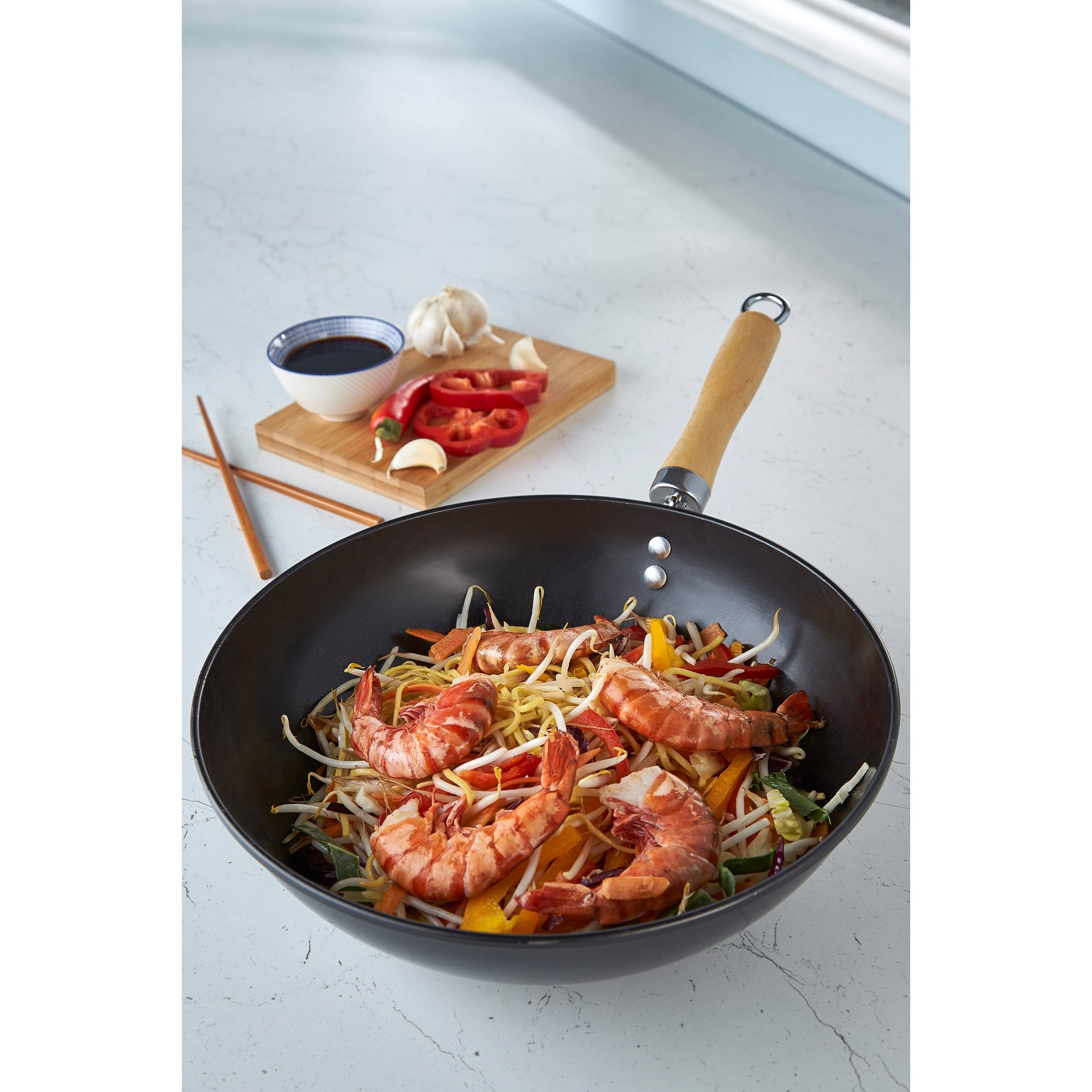 Image of 28cm Traditional Wok
