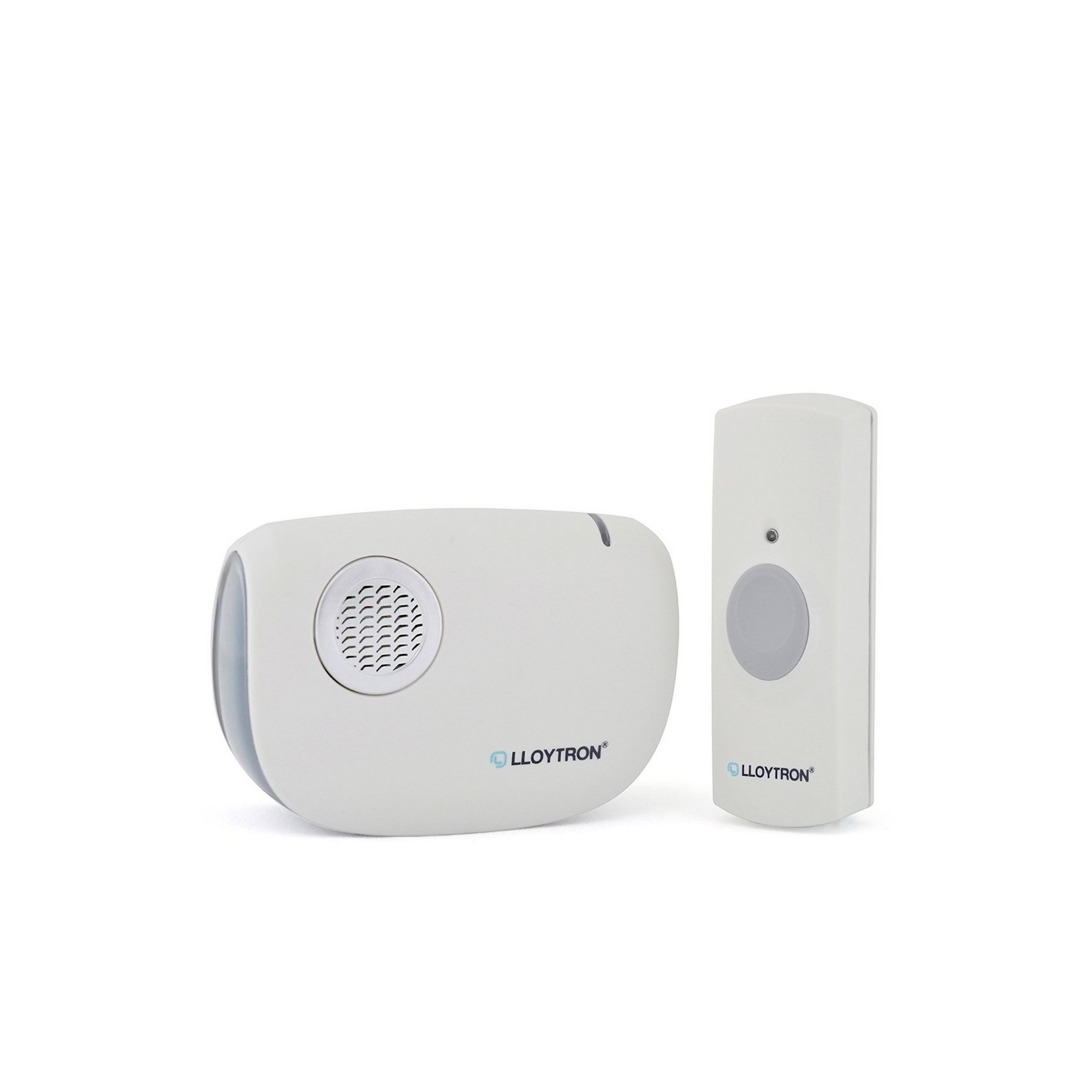 Image of Dingdong Mip3 Battery Operated Portable Door Chime Kit - White