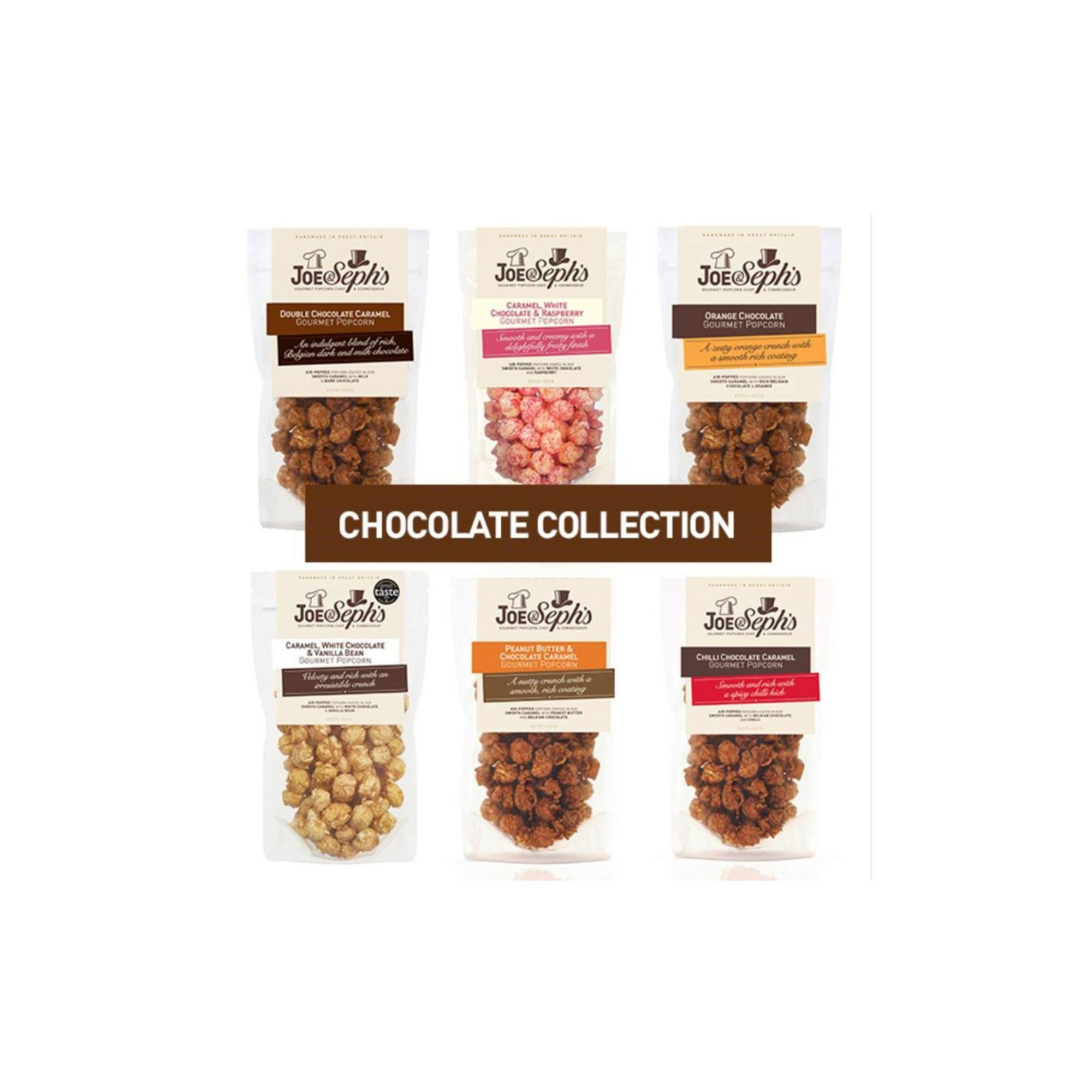 Image of Chocolate Popcorn Selection