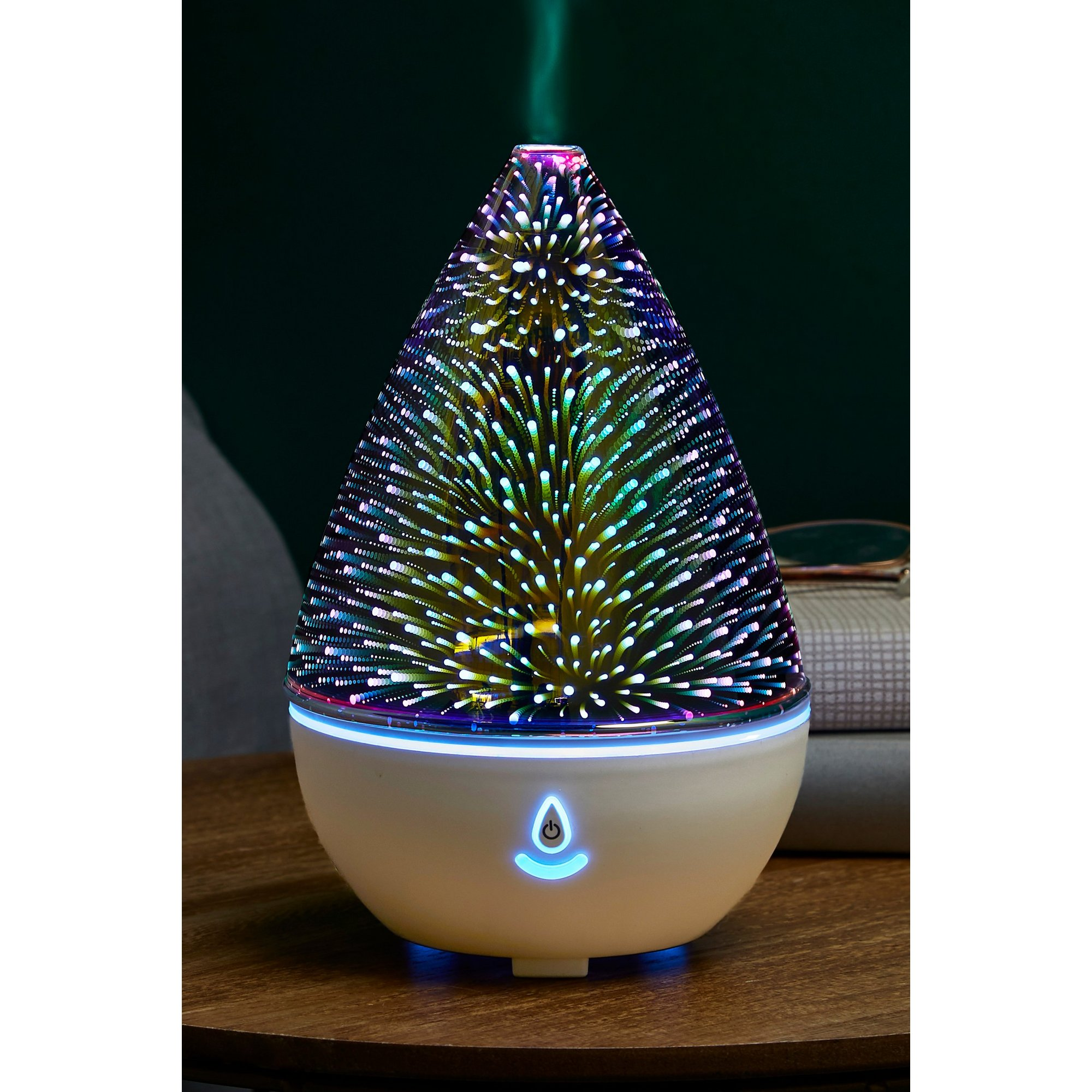Image of 3D Glass Aromatherapy Ultrasonic Diffuser