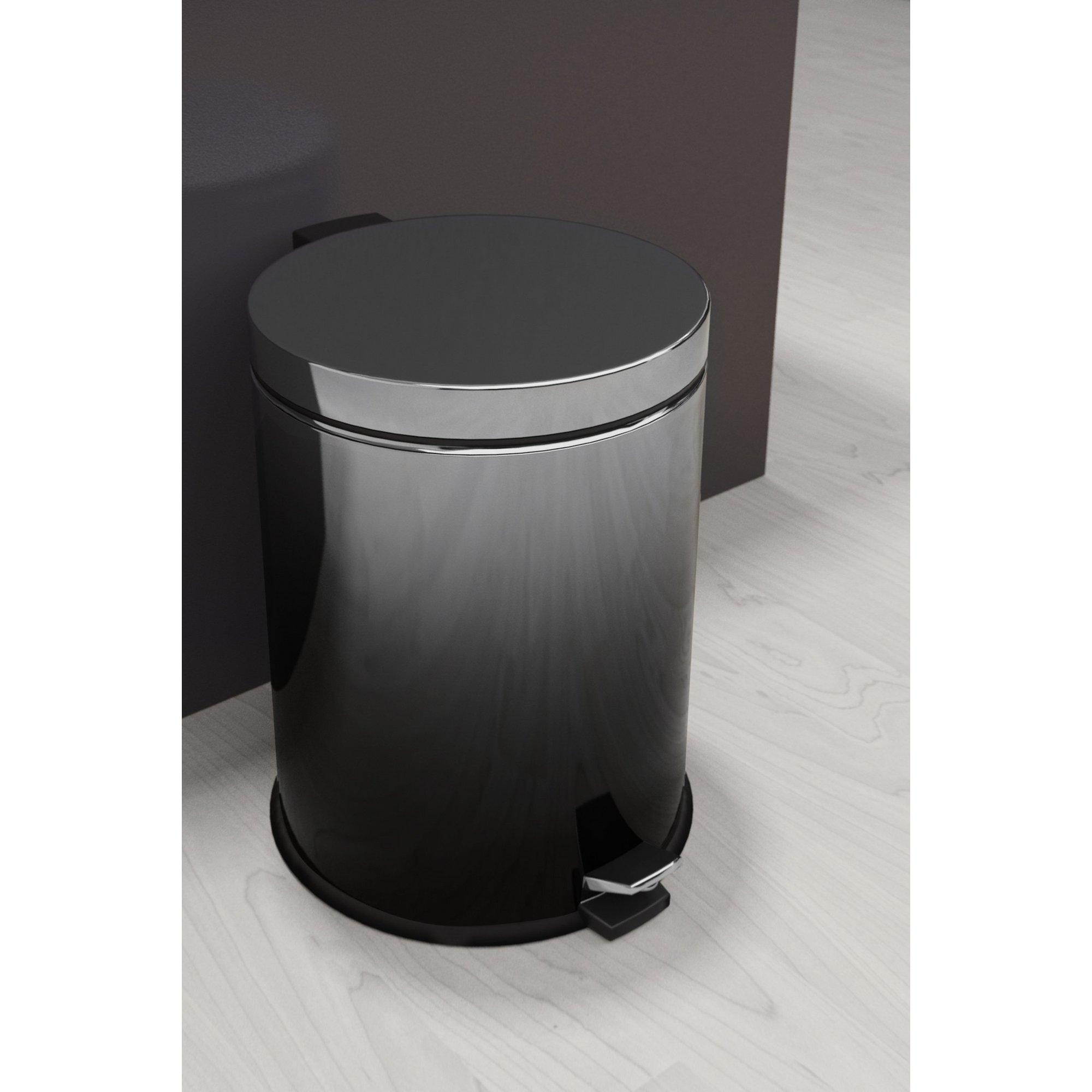 Image of Callisto Black Ombre Pedal Bin