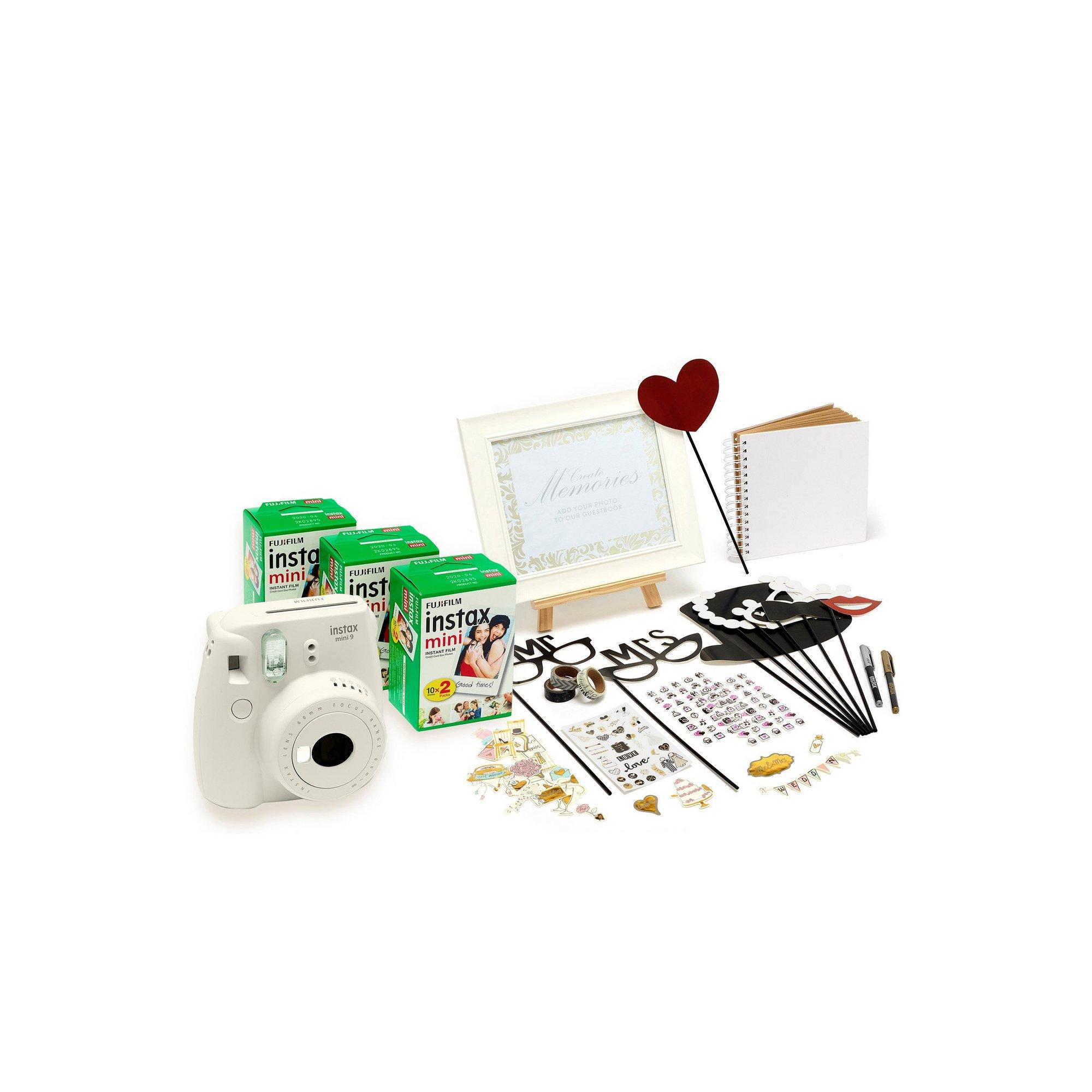 Image of Fujifilm Instax Mini 9 Wedding Camera Bundle