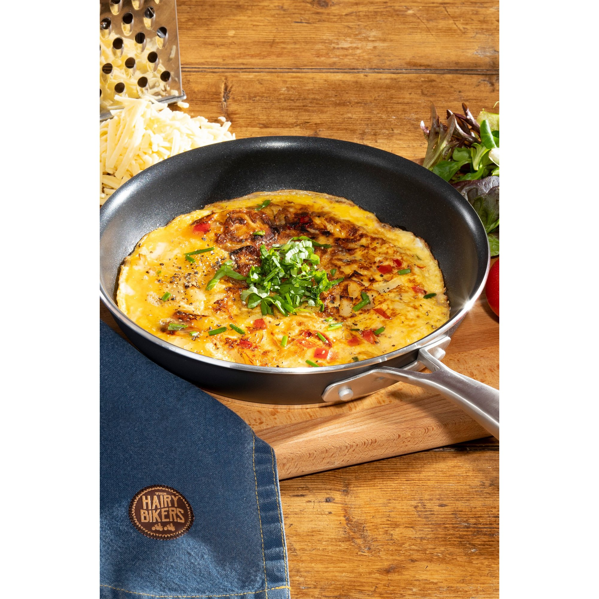 Image of Hairy Bikers 24cm Forged Fry Pan