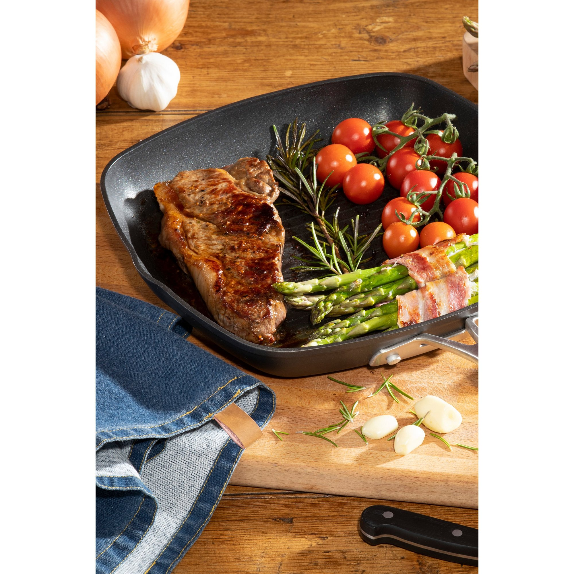 Image of Hairy Bikers 28cm Forged Grill Pan