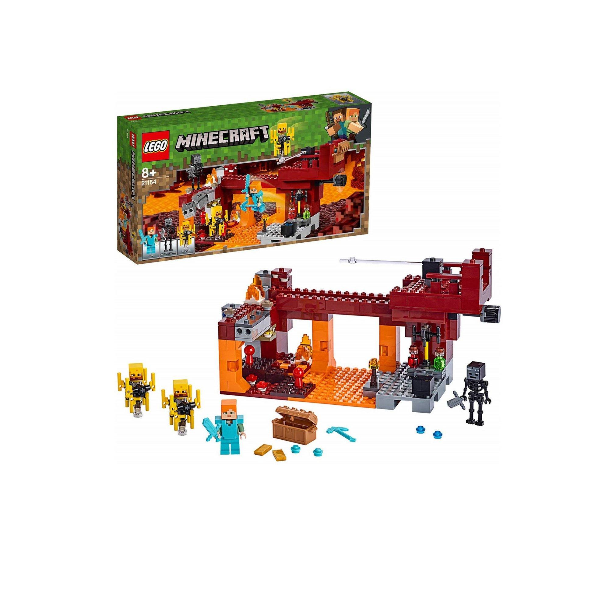 Image of LEGO Minecraft The Blaze Bridge