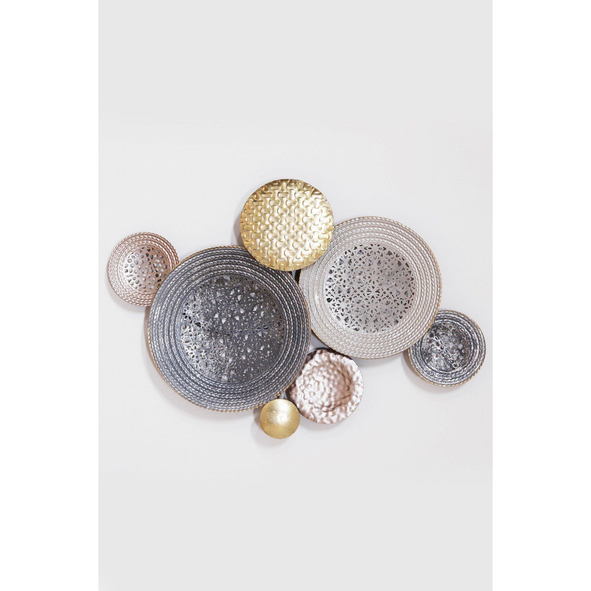Image of Circular Design Metal Wall Art
