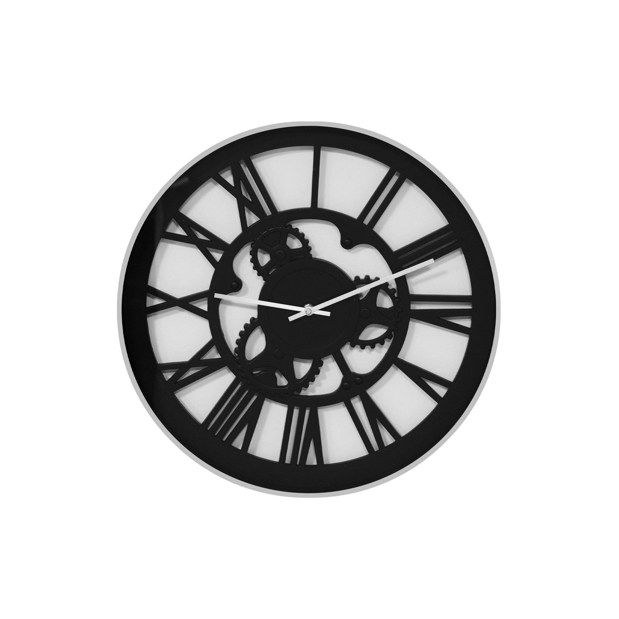 Image of Cut Out Dial Wall Clock