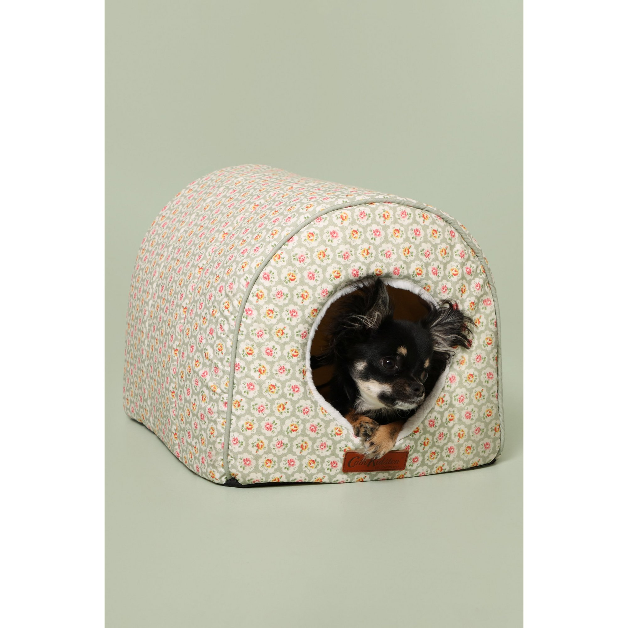 Image of Cath Kidston Provence Rose Igloo Bed with Luxury Comfort Inner