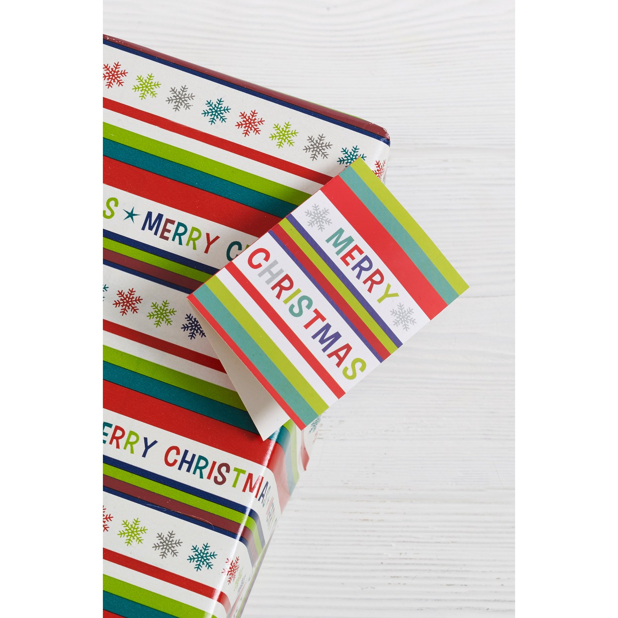 Image of Pack of 4 Merry Christmas Gift Tags