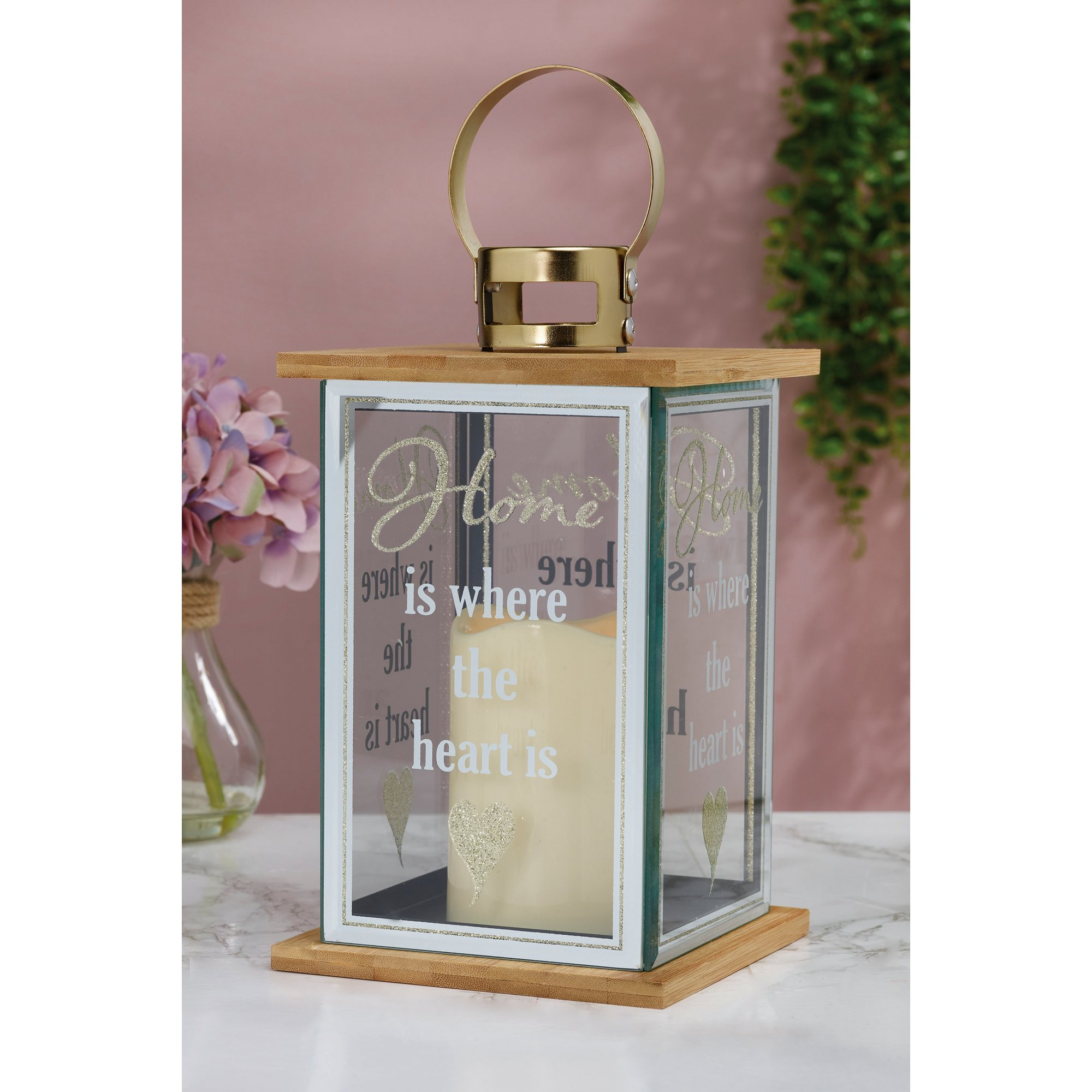 Image of LED Home Glass Lantern