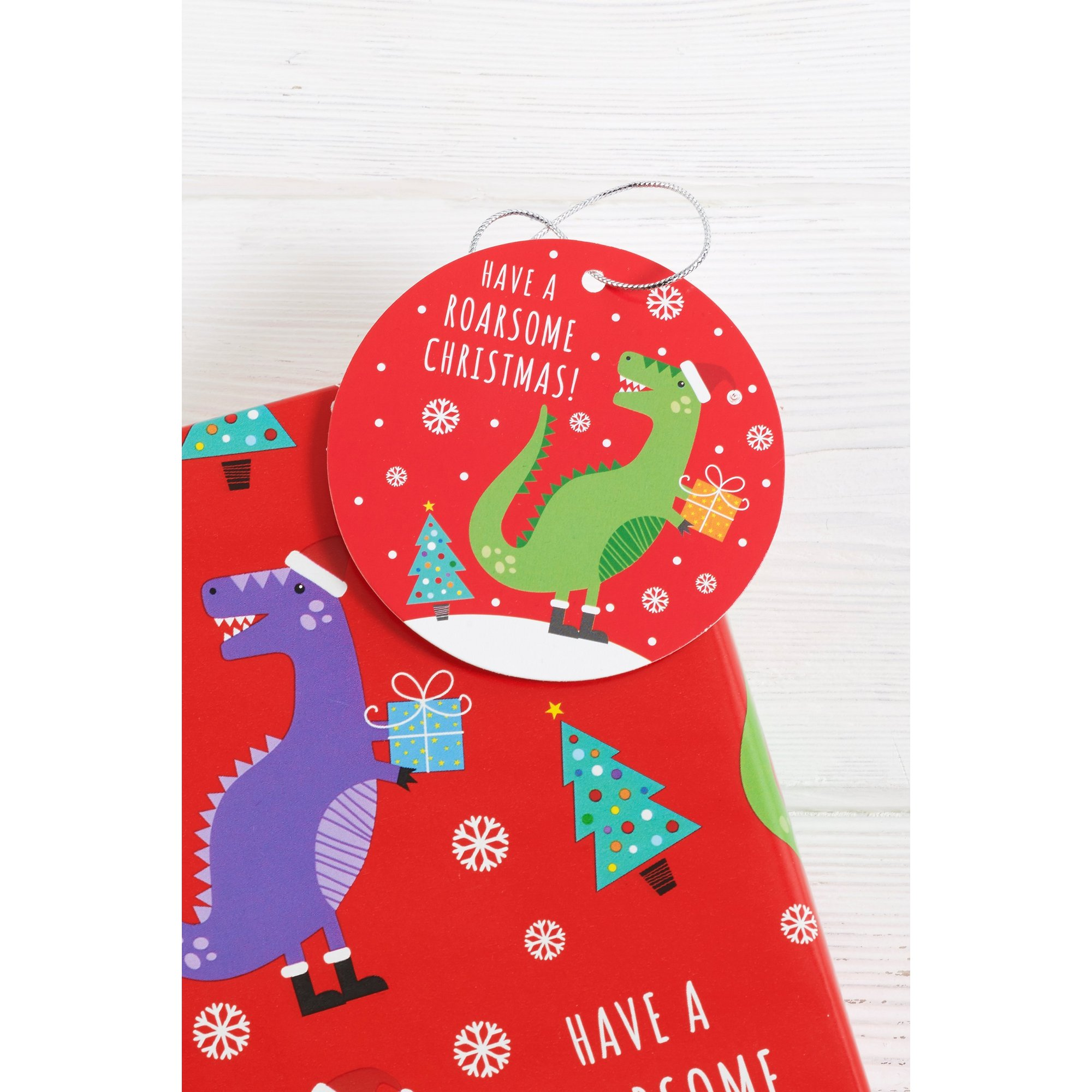 Image of Pack of 10 Tree-Rex Gifts Tags