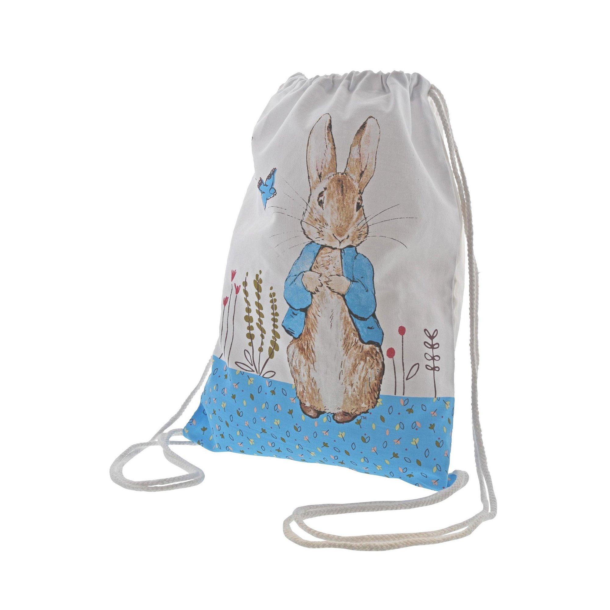 Image of Beatrix Potter Peter Rabbit Drawstring Bag