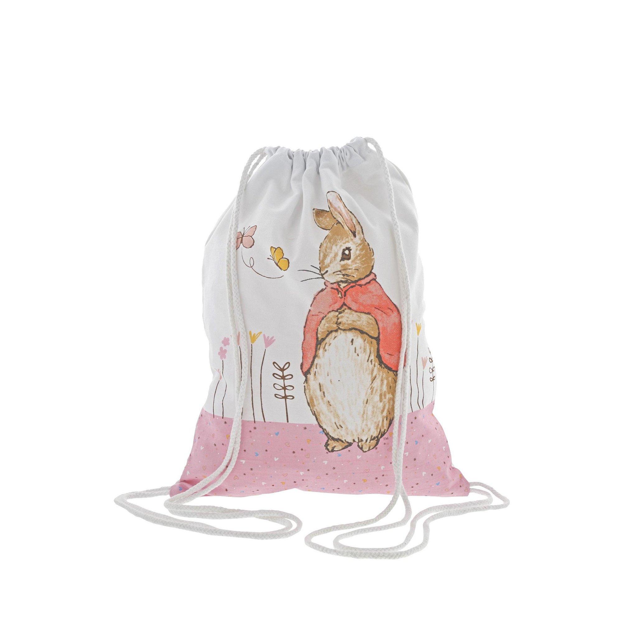 Image of Beatrix Potter Flopsy Drawstring Bag