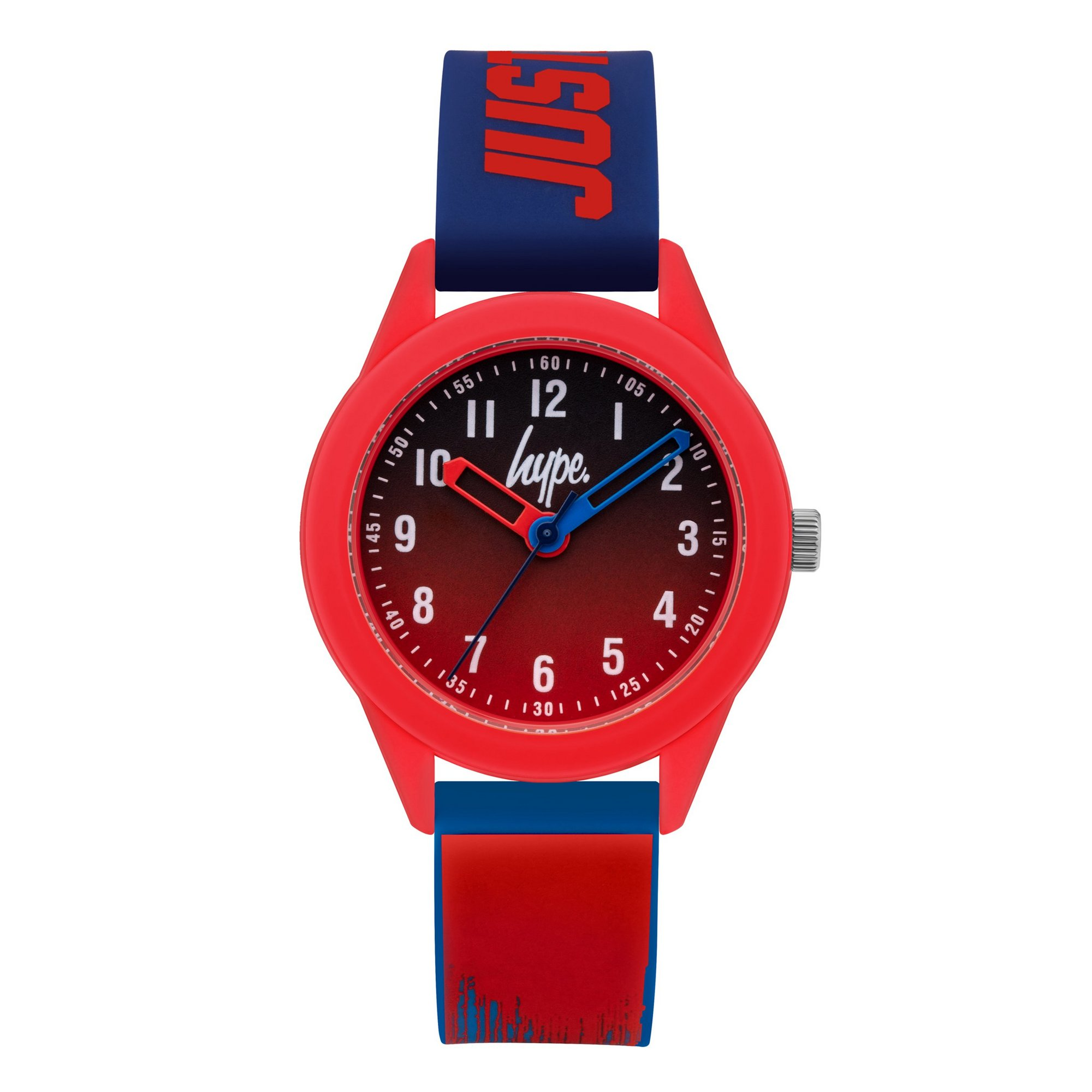 Image of Hype Kids Paint Drip Pattern Silicone Strap Watch