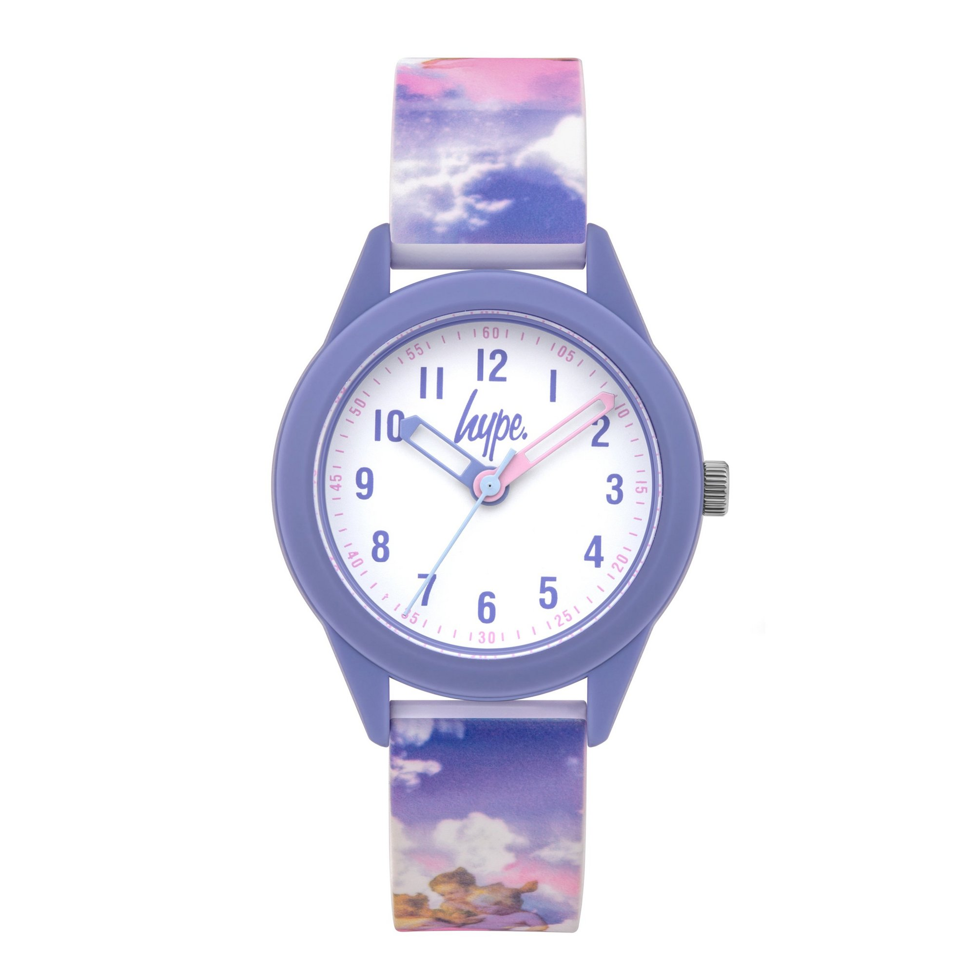 Image of Hype Kids Angel Print Silicone Strap Watch