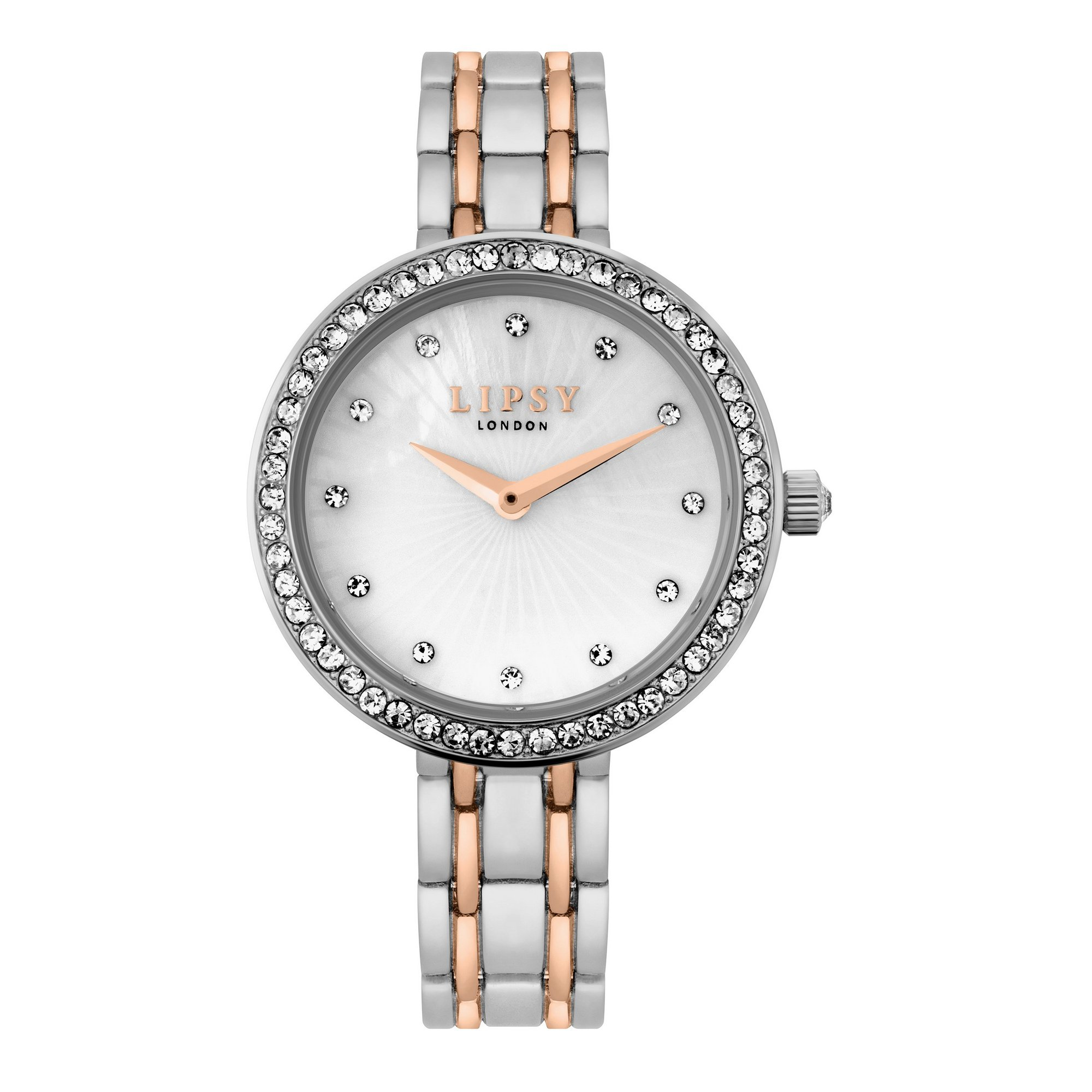 Image of Lipsy Bracelet Watch with White Mother-Of-Pearl Dial