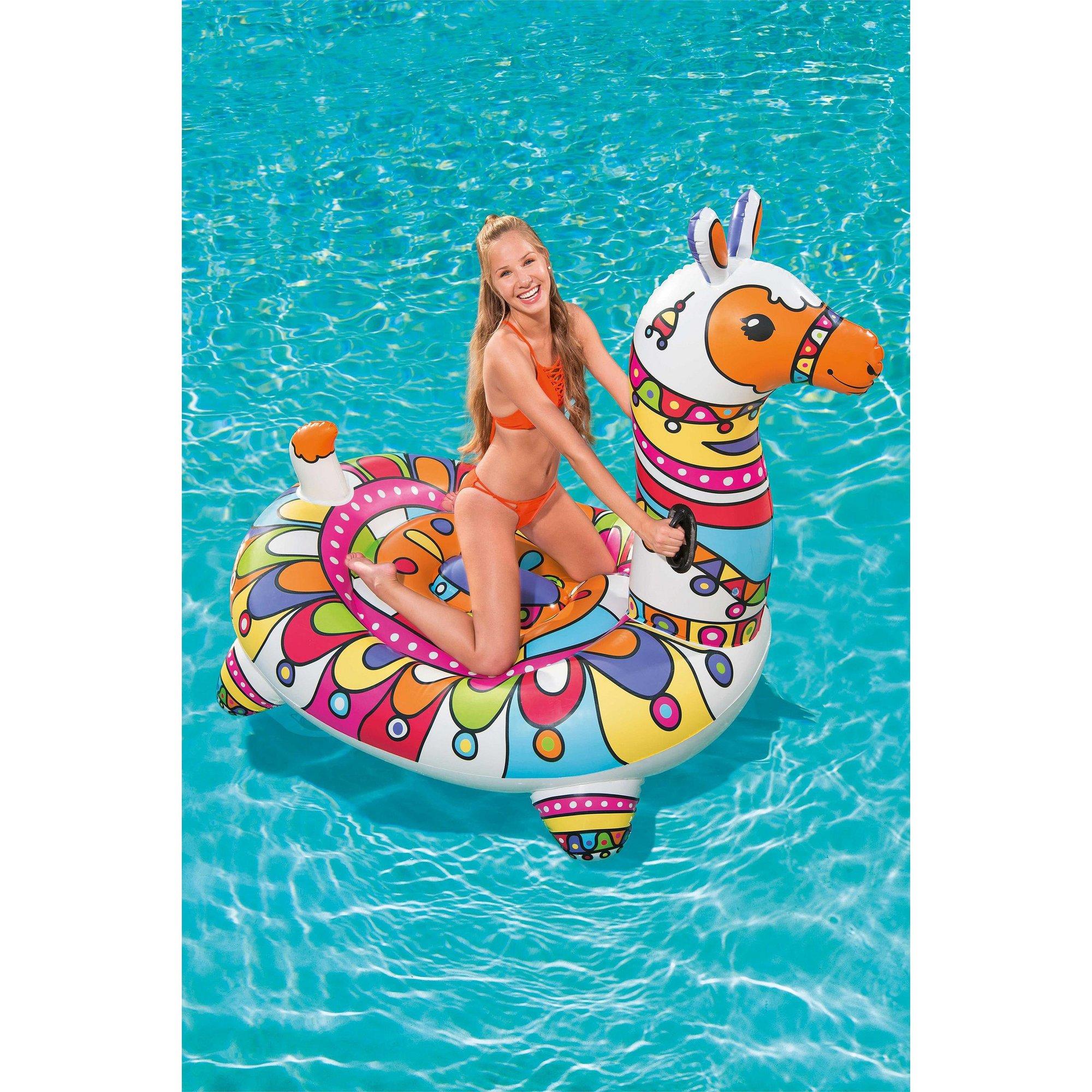 Image of Bestway Pop Llama Inflatable Ride On