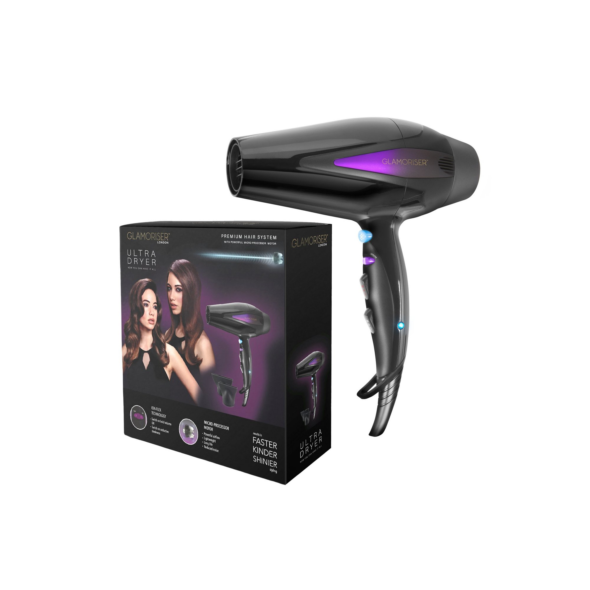 Image of Glamoriser Ultra Hair Dryer