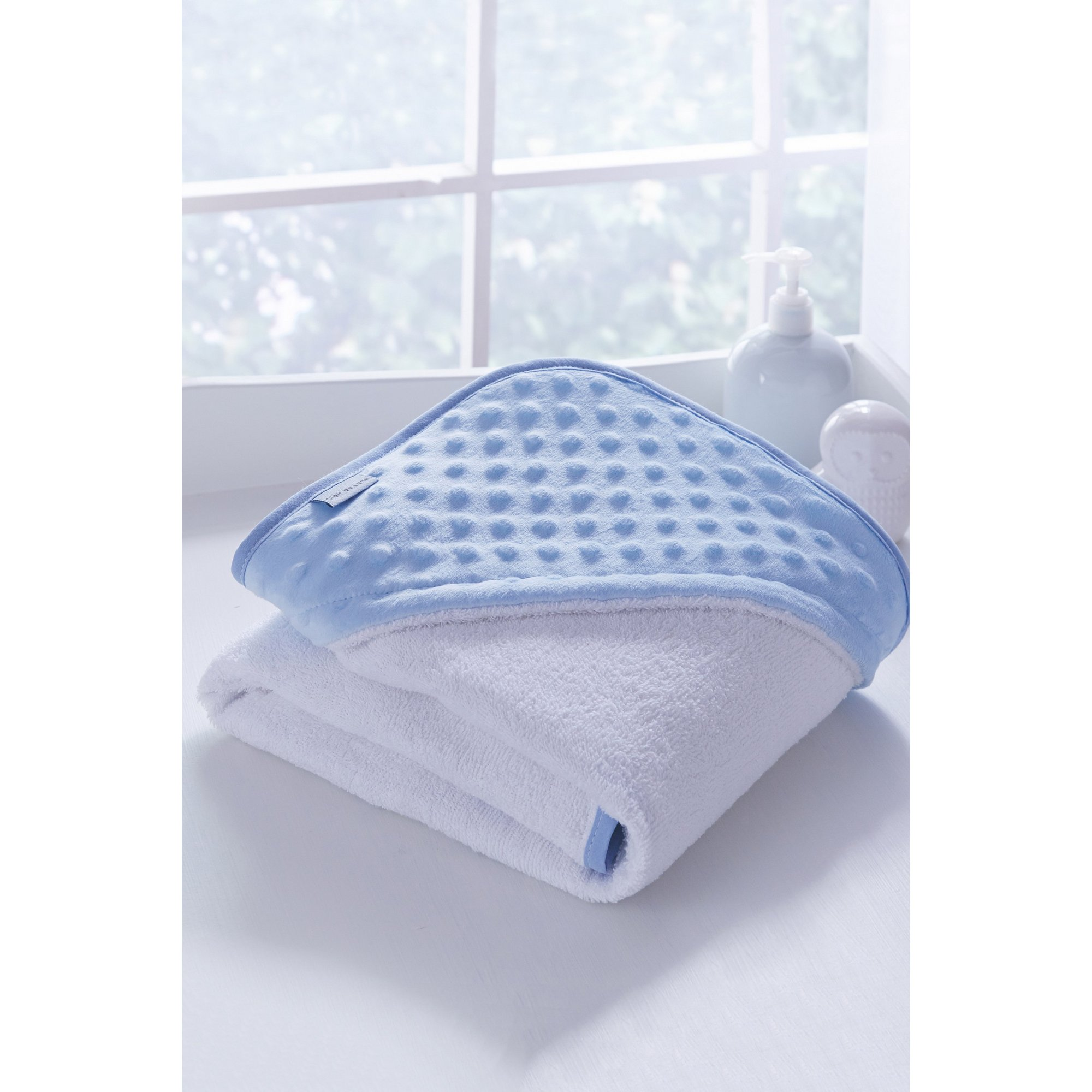 Image of Clair de Lune Dimple Hooded Towel