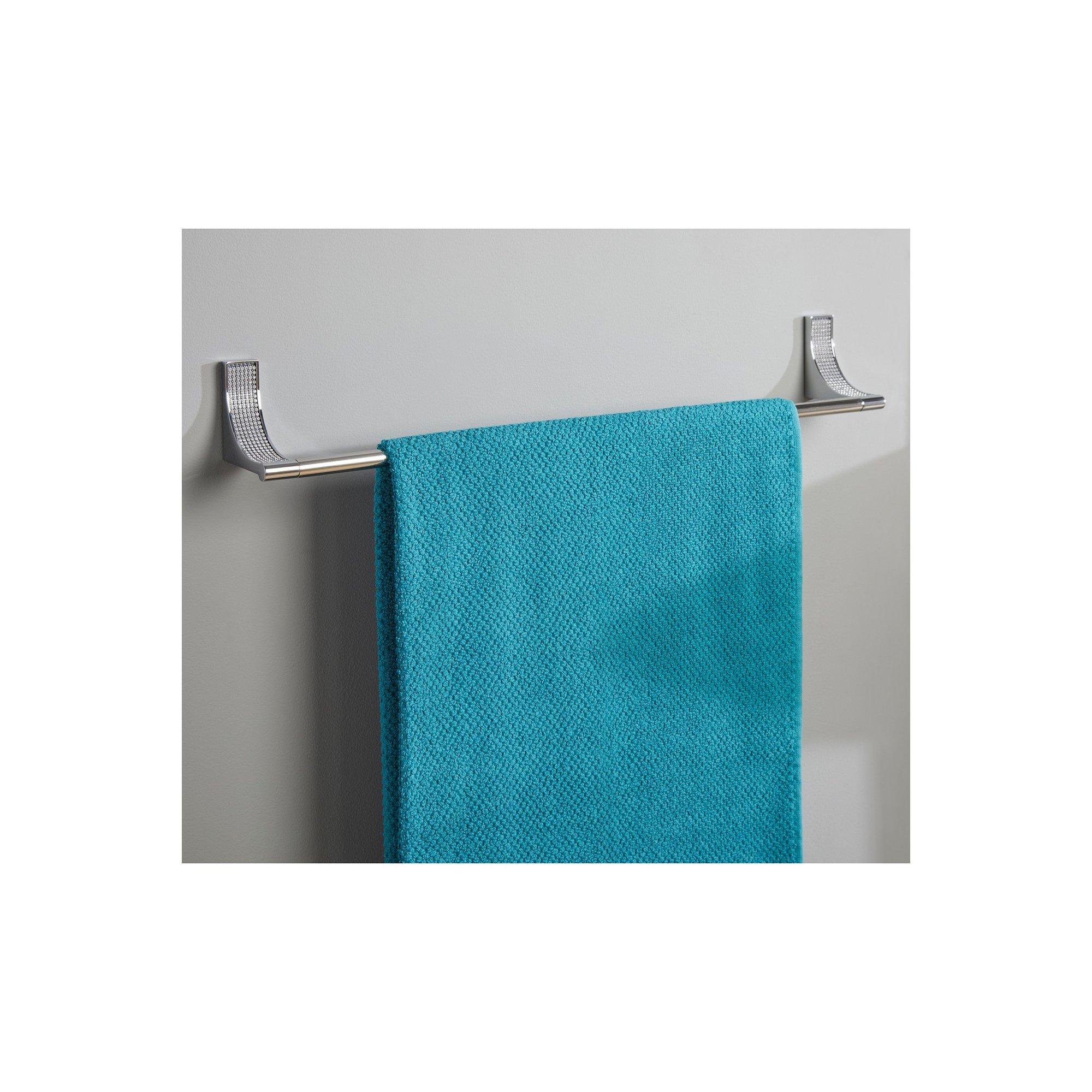 Image of Glamour Square Bathroom Towel Rail