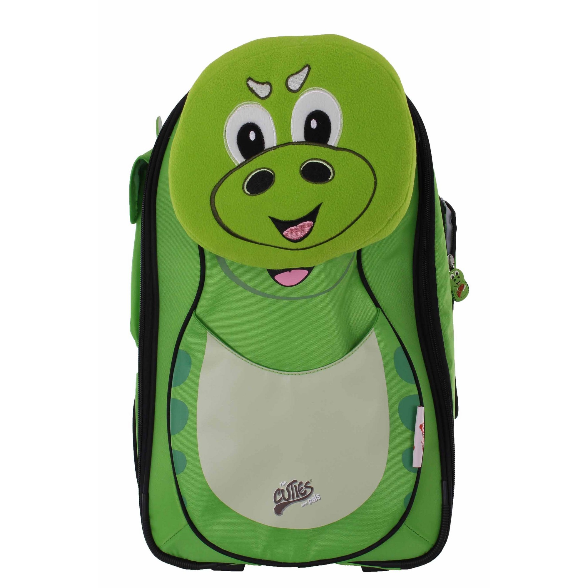 Image of Cuties and Pals Childrens Dinosaur Wheeled Trolley Case