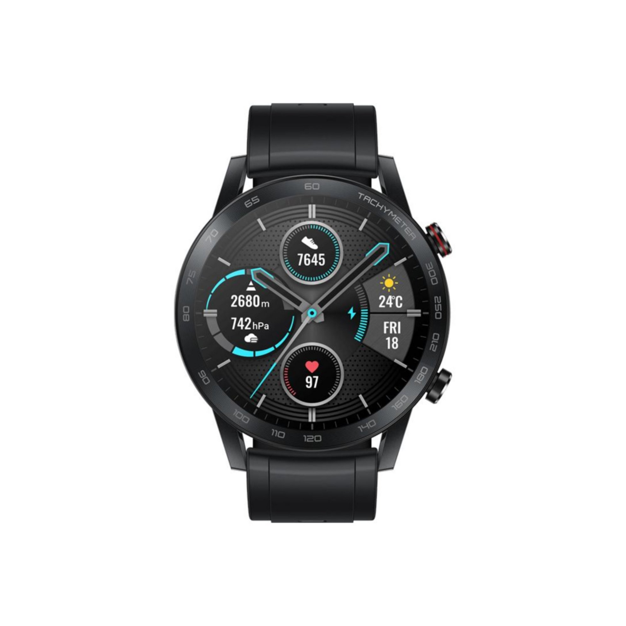Image of HONOR MagicWatch 2 46mm Sport Edition - Charcoal Black