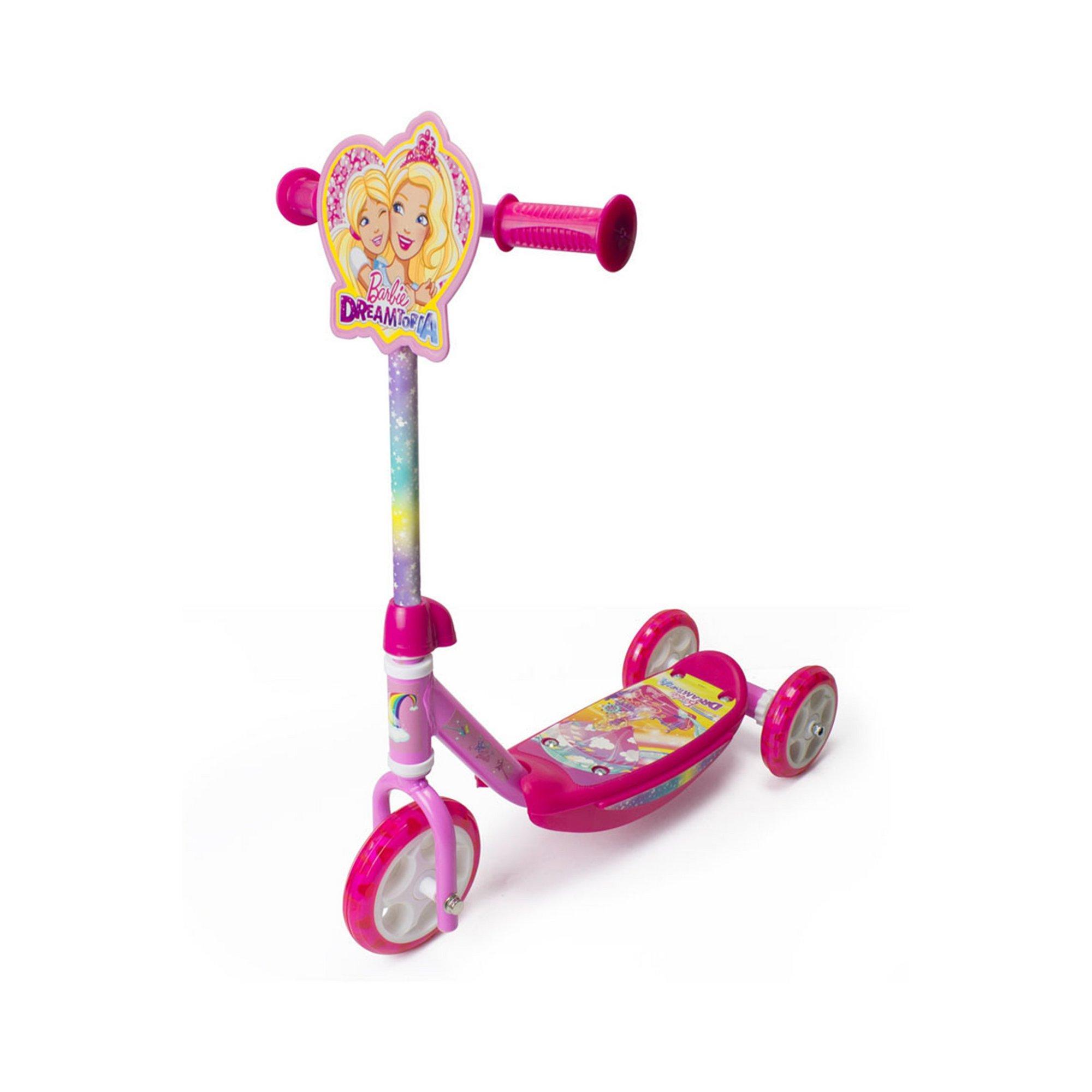 Image of Barbie Dreamtopia Kids Three Wheel Tri Scooter
